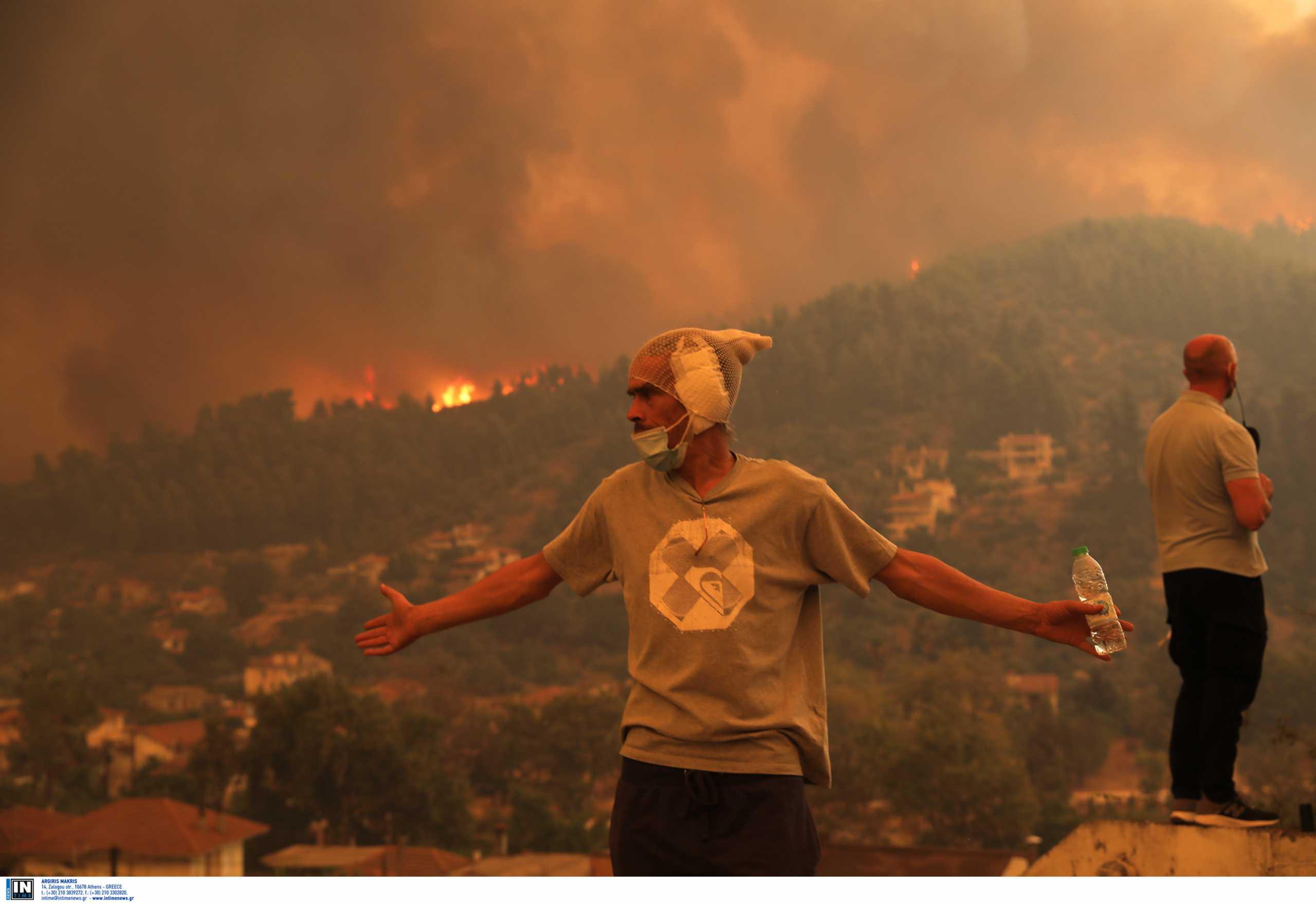 Φωτιές στην Εύβοια: Κάηκε το ένα τρίτο των δασών λέει το meteo