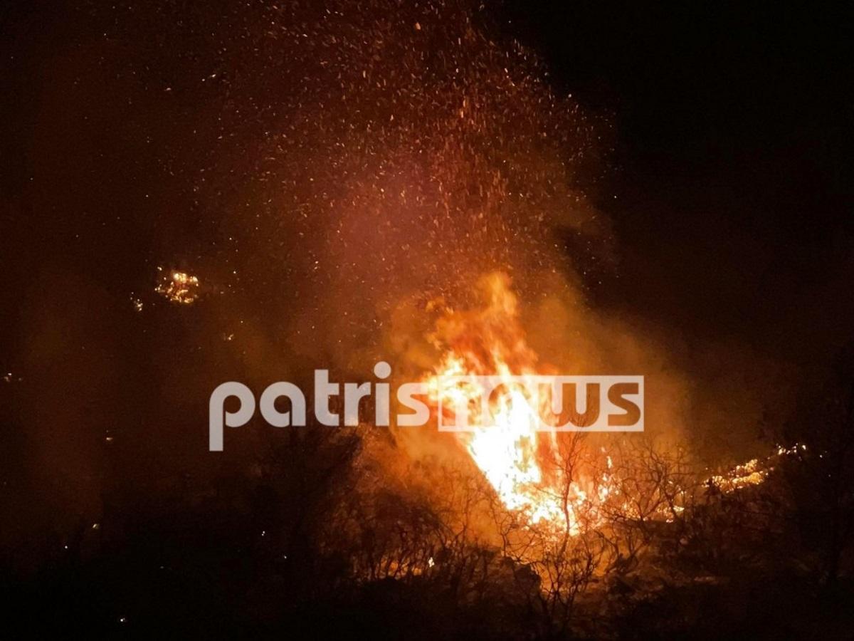 Φωτιά στην Κορυφή Πύργου: Νέο μέτωπο προς τα Φωναϊτικά