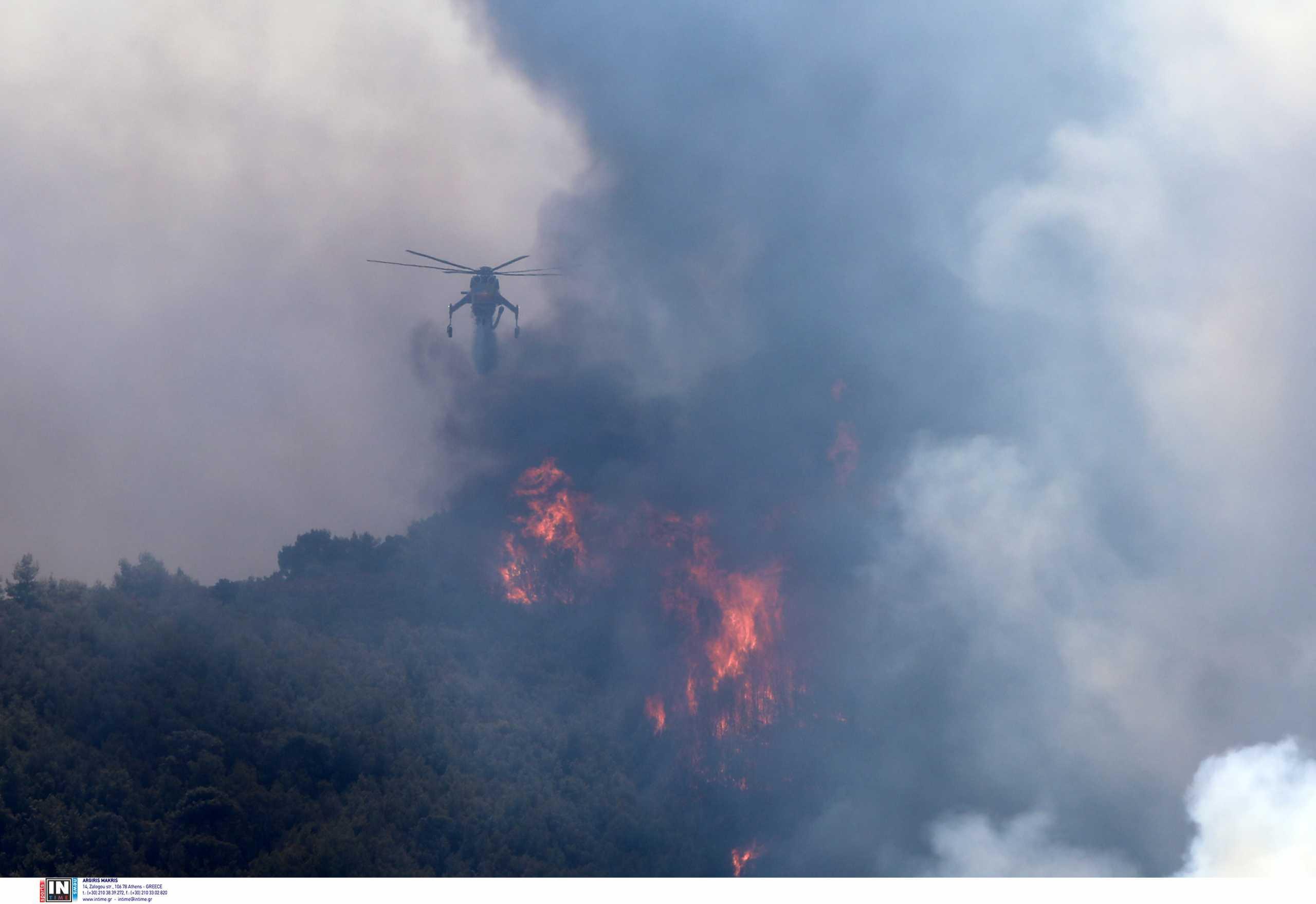Φωτιές – Πολιτική Προστασία: Πού είναι πολύ υψηλός ο κίνδυνος πυρκαγιών την Παρασκευή (03/09)