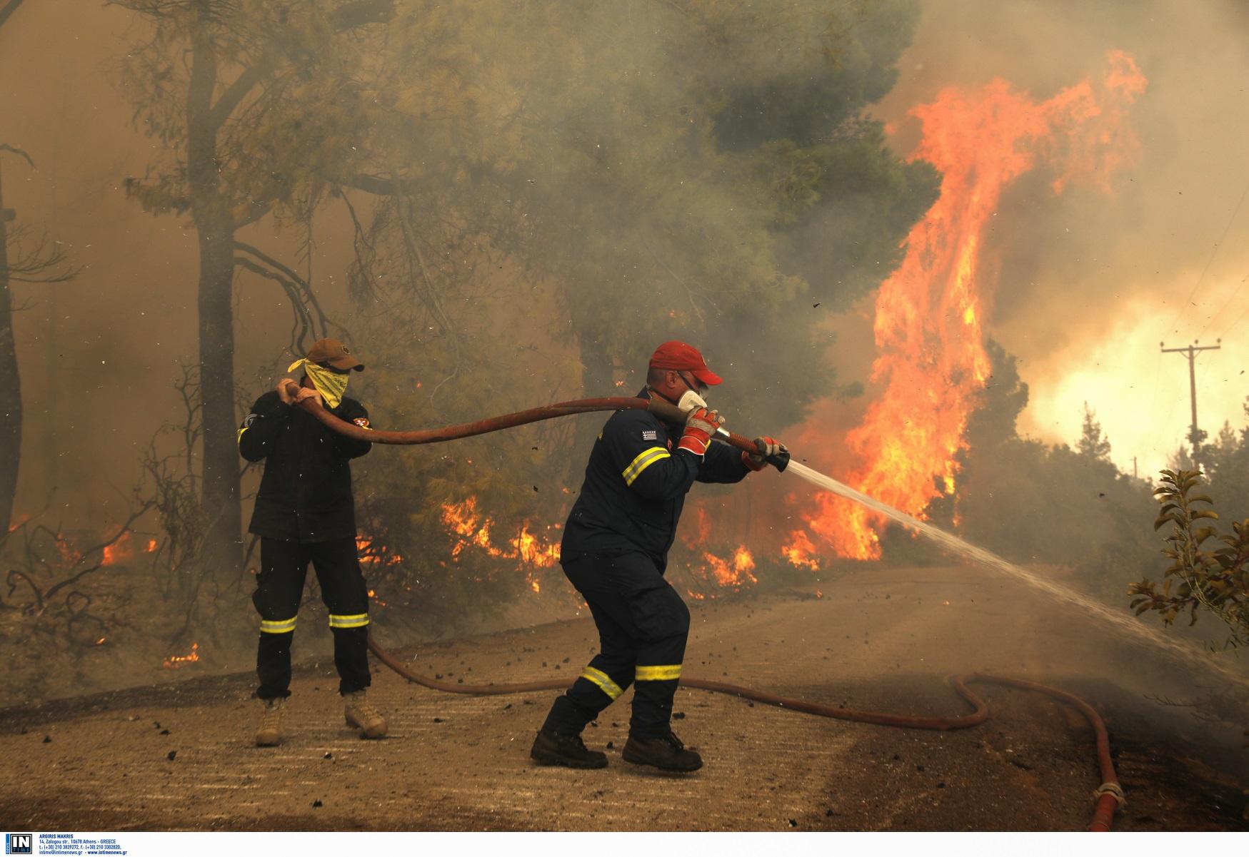 Φωτιές – Πολιτική Προστασία: Πού είναι μεγάλος ο κίνδυνος την Τρίτη 17/08