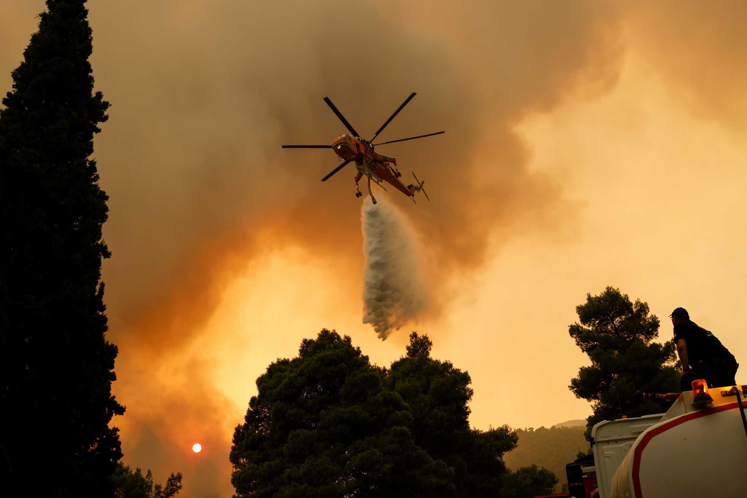 Φωτιές – Πολιτική Προστασία: Πού είναι πολύ υψηλός ο κίνδυνος την Πέμπτη 26/08