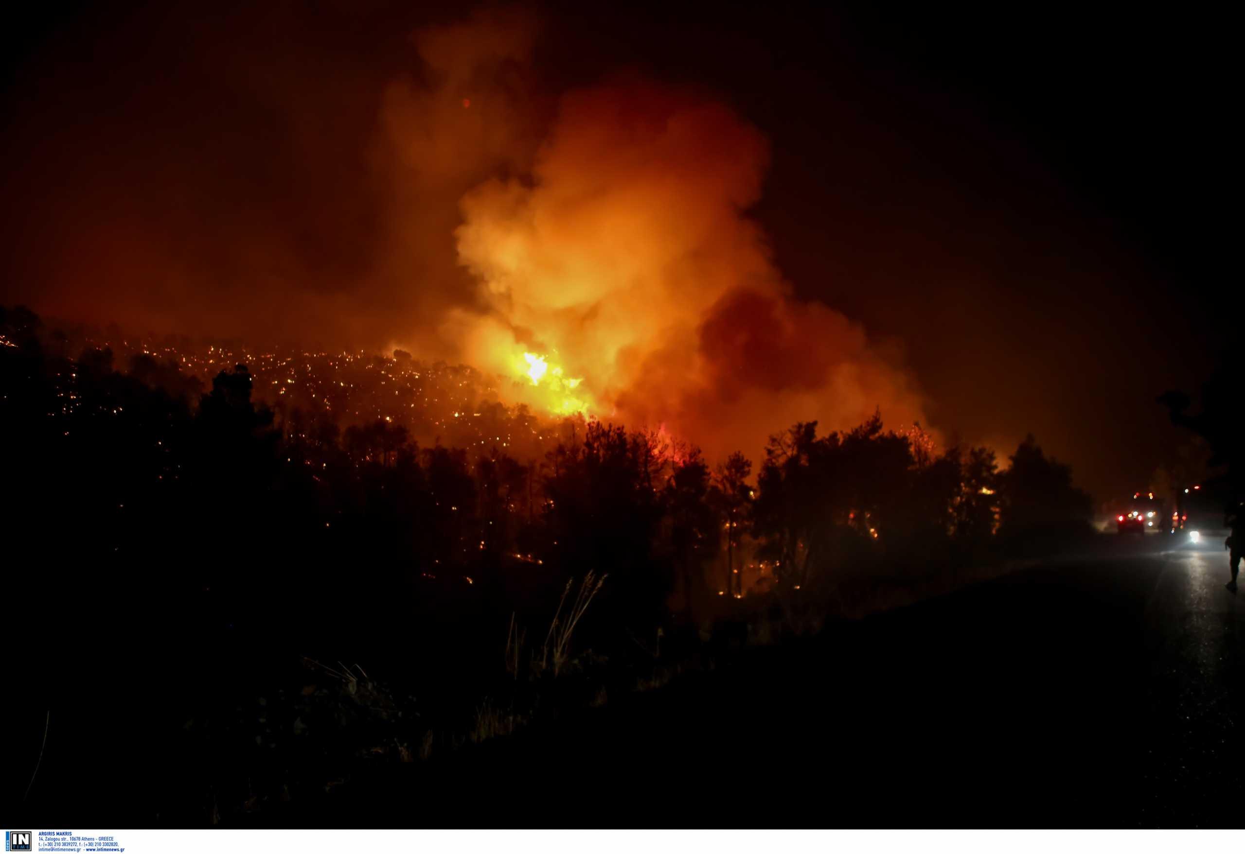 Κυβερνητική δυσαρέσκεια για τη φωτιά στην Αττική – Το παρασκήνιο πίσω από το διάγγελμα του πρωθυπουργού