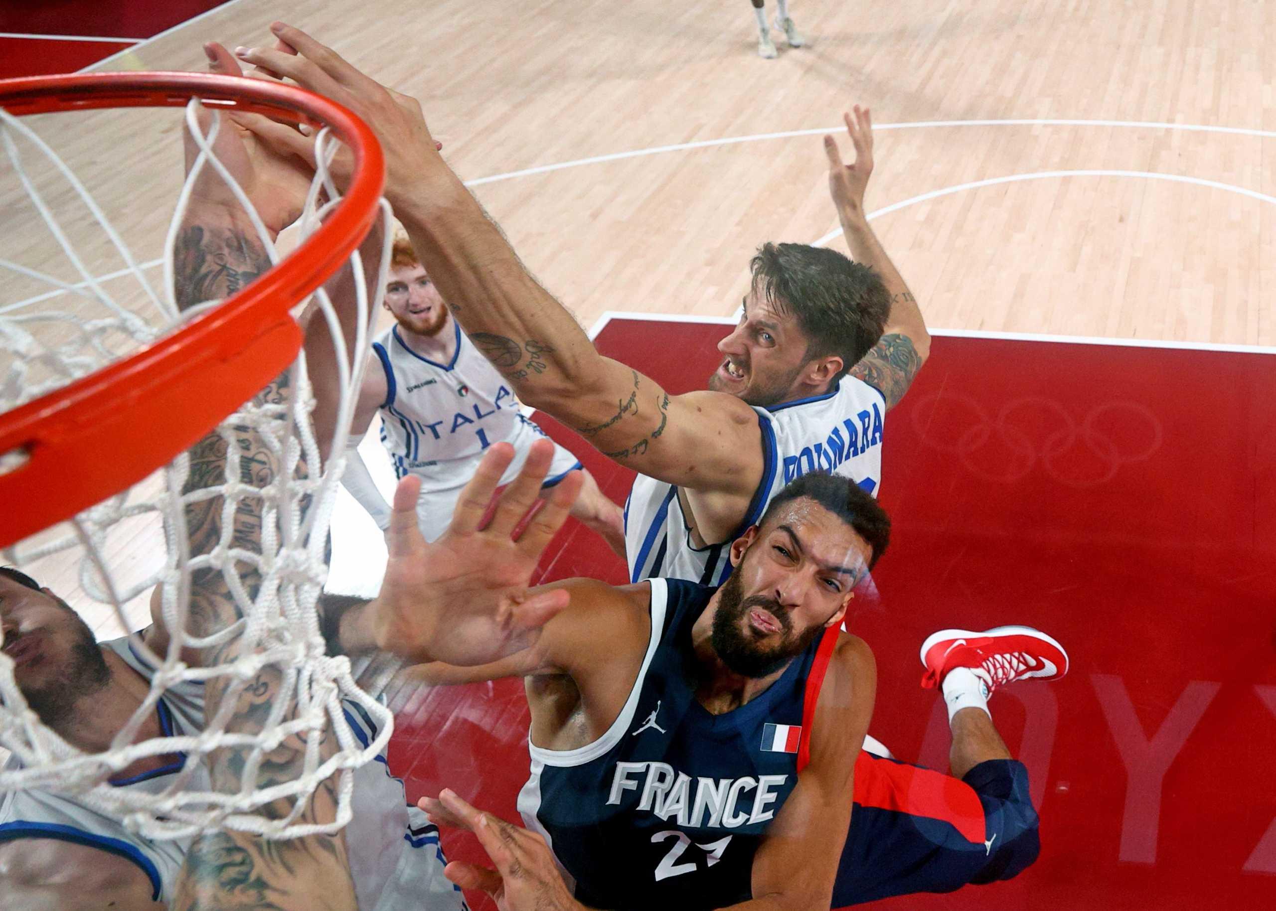 Ιταλία – Γαλλία 75-84: Στα ημιτελικά οι Γάλλοι, με Σλοβενία για μία θέση στο βάθρο
