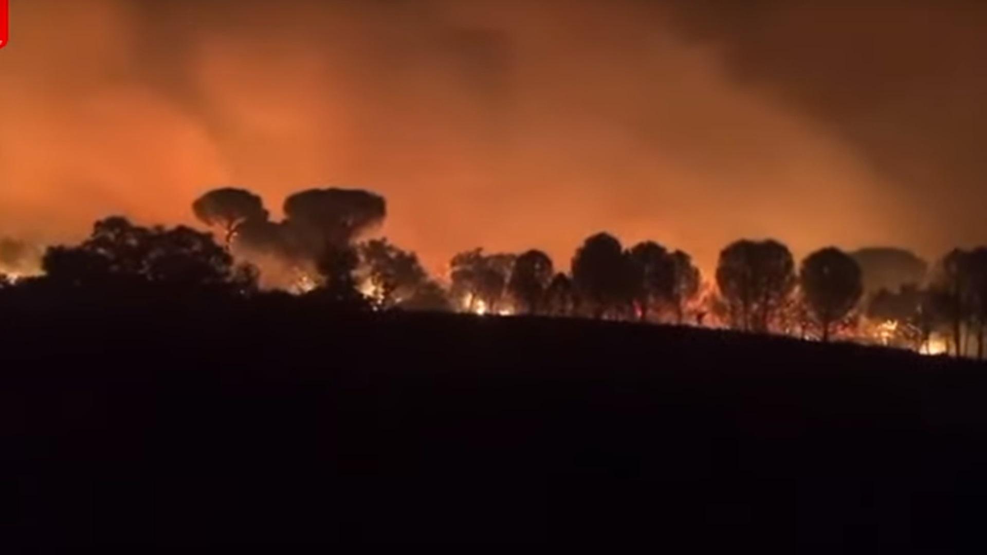 Γαλλία: Καίει για πέμπτη ημέρα η πυρκαγιά στην Κυανή Ακτή – Καλύτερη η σημερινή εικόνα