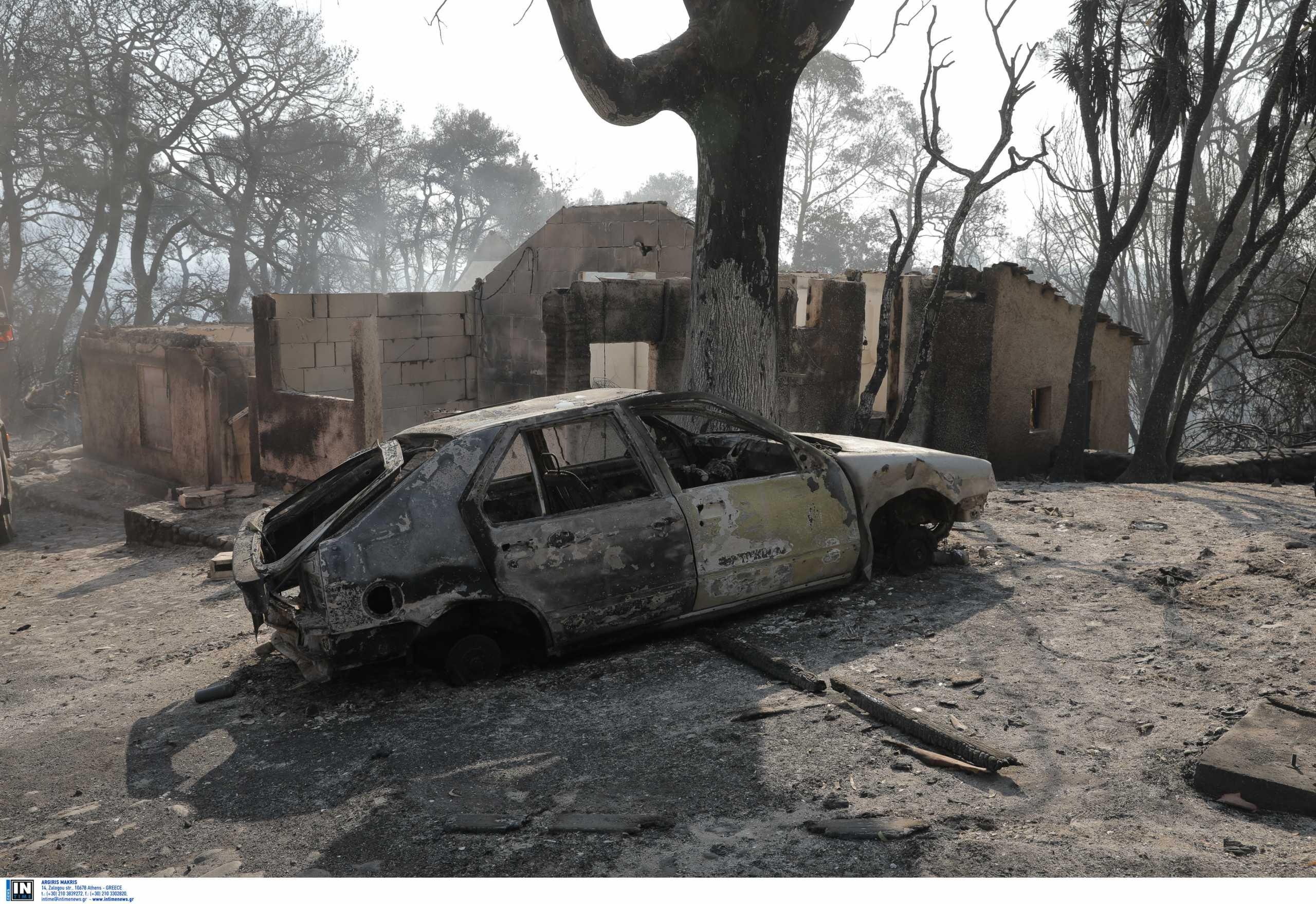 Φωτιά στην Αχαΐα: Που υπάρχουν ενεργά μέτωπα – Εικόνες καταστροφής στη Ζήρια – Τι έδειξε ο δορυφόρος