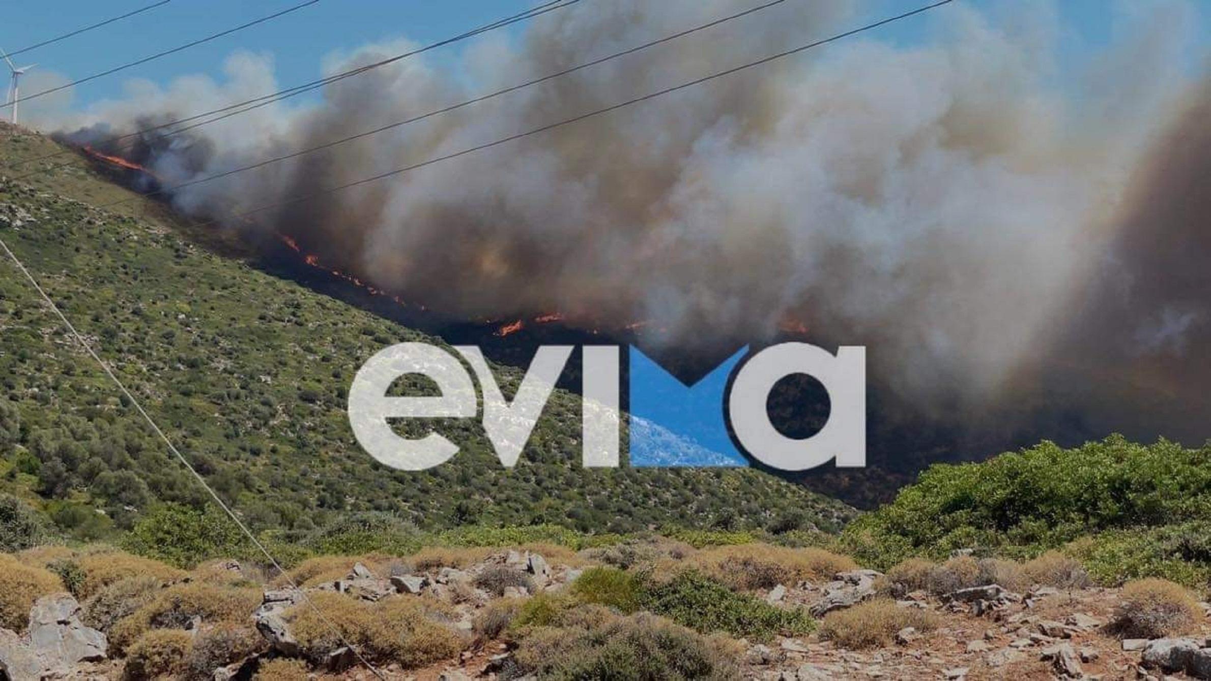 Φωτιά στην Εύβοια: Με πόσα χιλιόμετρα «ταξίδεψε» ο καπνός στην Αττική