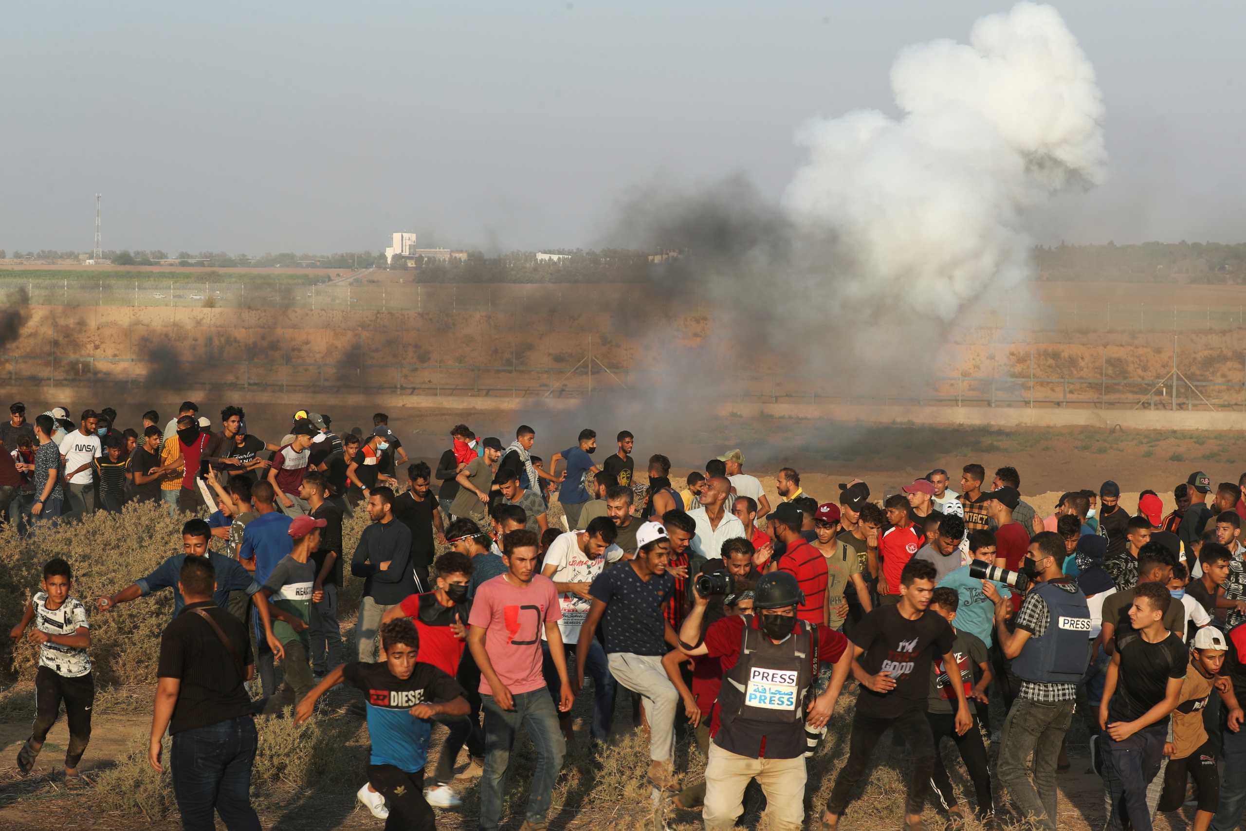 Γάζα: Ισραηλινά αεροσκάφη έπληξαν στόχους της Χαμάς