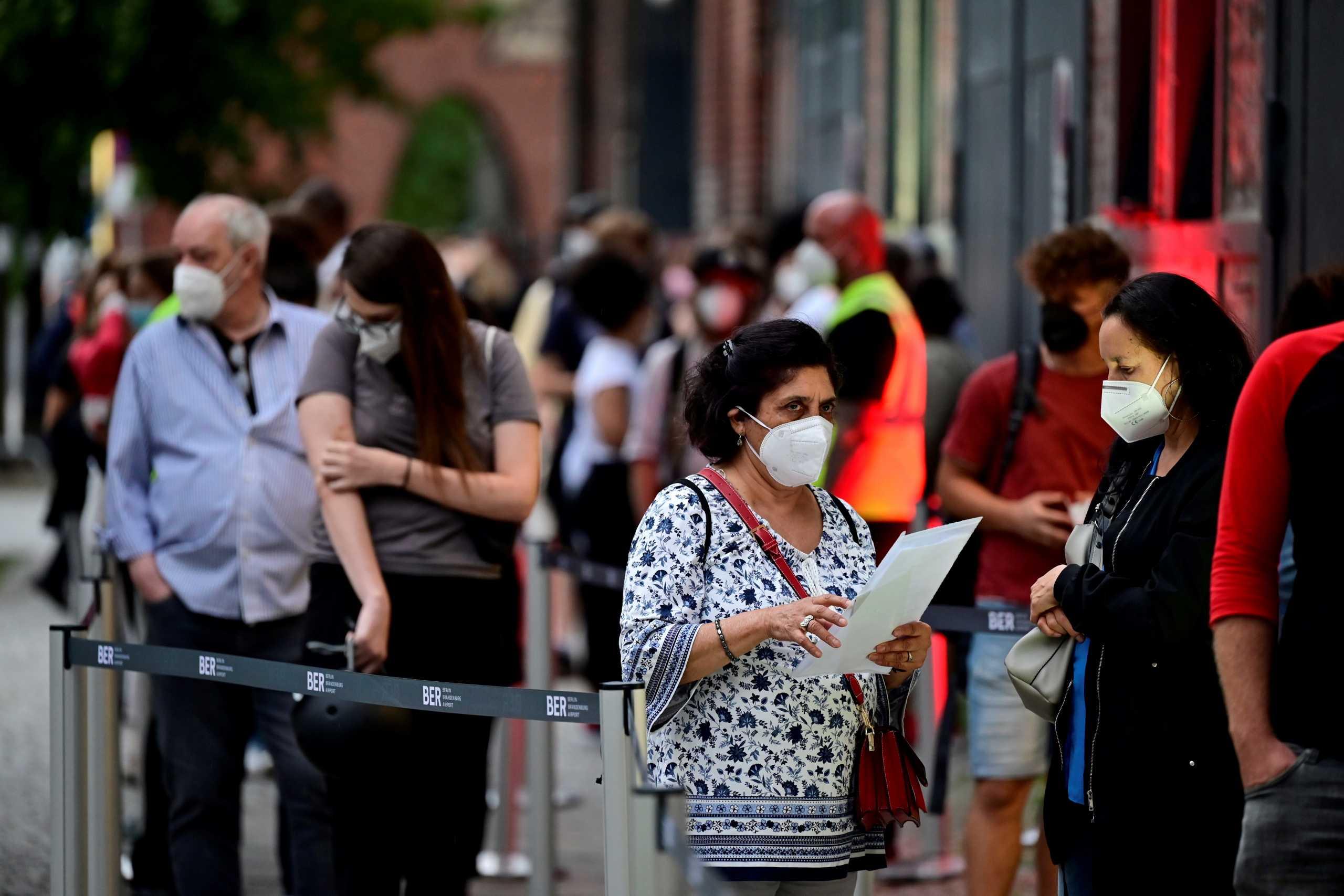 Γερμανία: Σχεδόν 3.700 κρούσματα κορονοϊού σε ένα 24ωρο