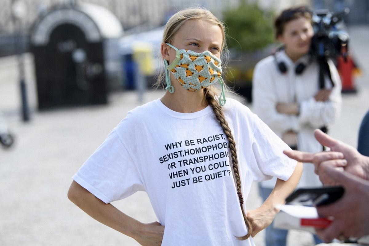 Κλιματική αλλαγή: Η Γκρέτα Τούνμπεργκ βάζει στο «στόχαστρο» και πάλι τον Τζο Μπάιντεν