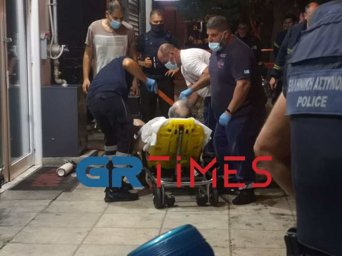 Θεσσαλονίκη: Φωτιά σε διαμέρισμα – Απεγκλωβίστηκε ζευγάρι