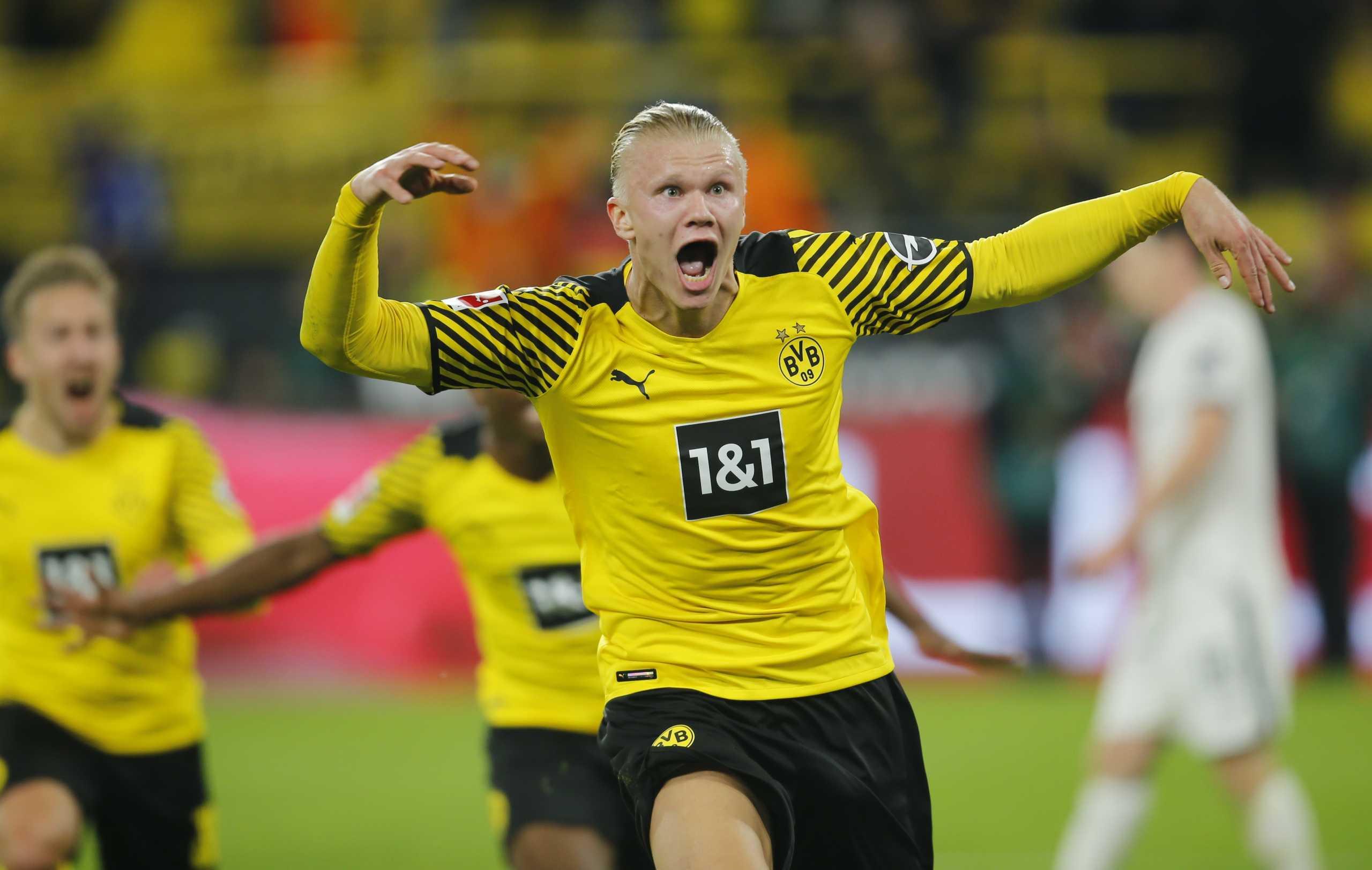 Bundesliga: Ο Χάαλαντ «λύτρωσε» την Ντόρτμουντ στις καθυστερήσεις