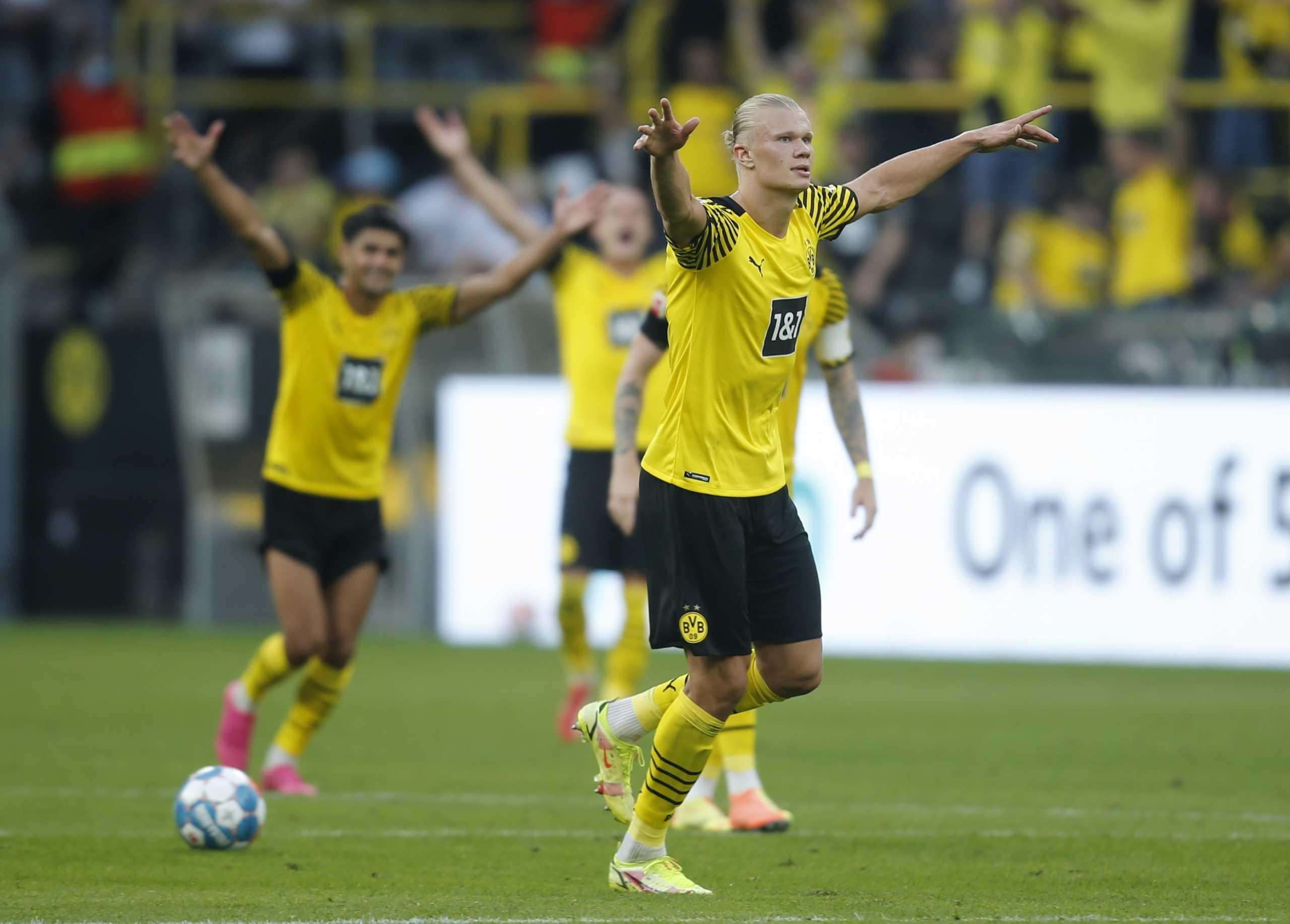 Bundesliga: «Καταιγιστική» Ντόρτμουντ με σούπερ Χάαλαντ