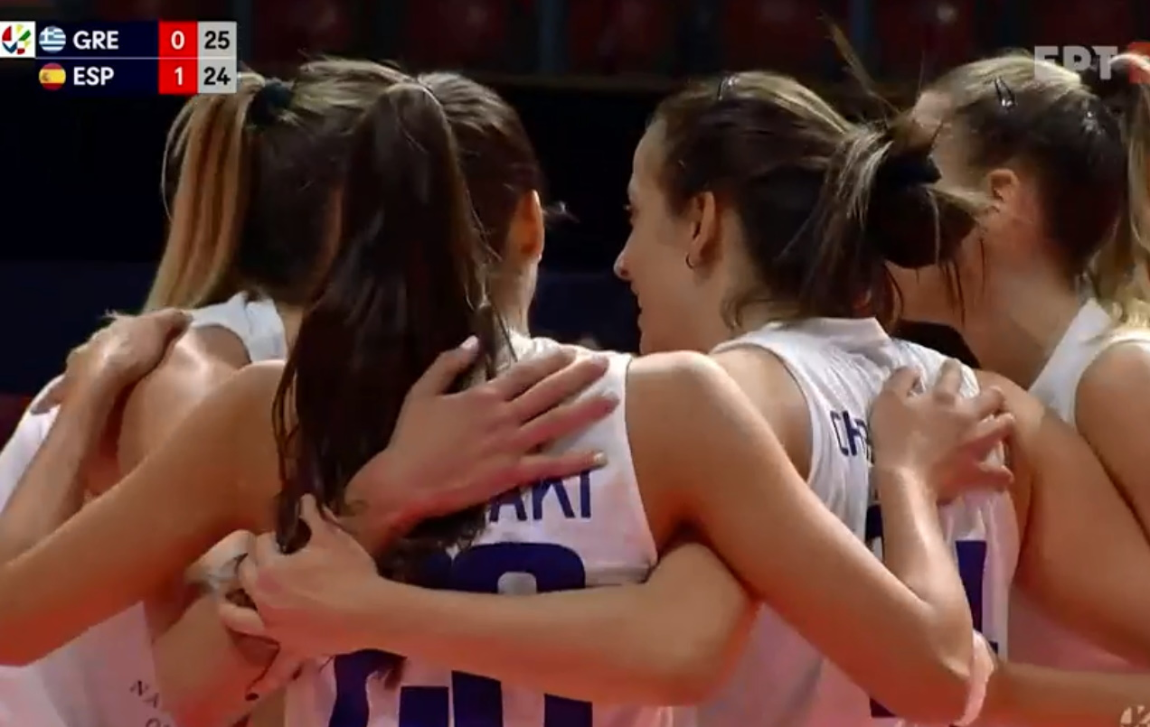 Ευρωπαϊκό πρωτάθλημα γυναικών: Η Εθνική Ελλάδας ηττήθηκε από την Ισπανία, αλλά ελπίζει