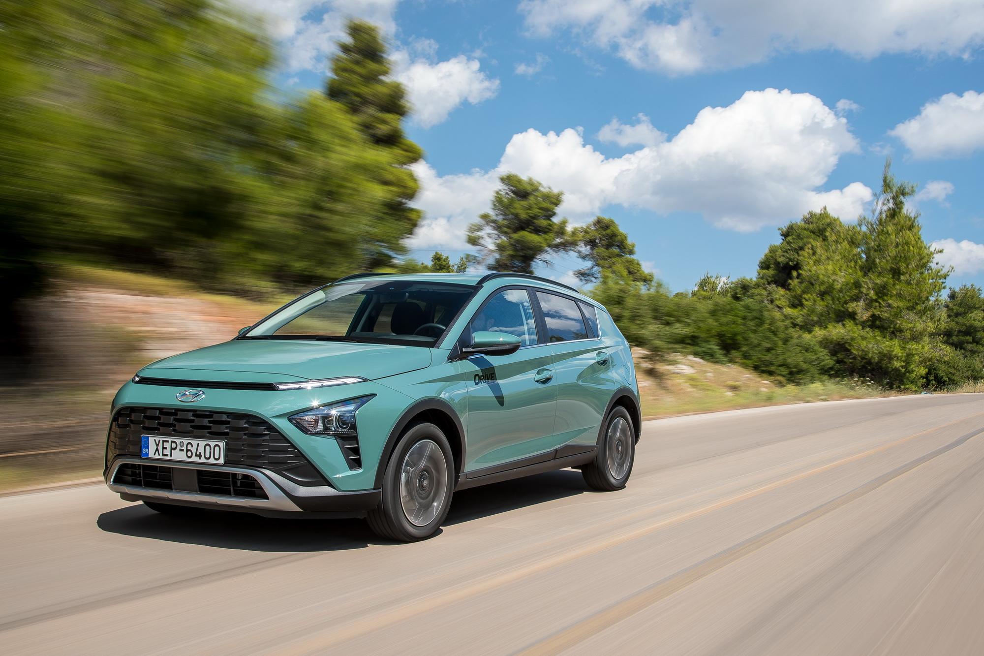 Hyundai Bayon: Δοκιμάζουμε το νέο και προσιτό SUV της Hyundai