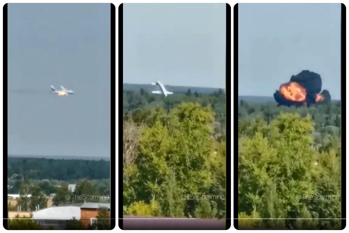 Ρωσία: Συνετρίβη μεταγωγικό αεροσκάφος Ilyushin Il-112 που εκτελούσε εκπαιδευτική πτήση