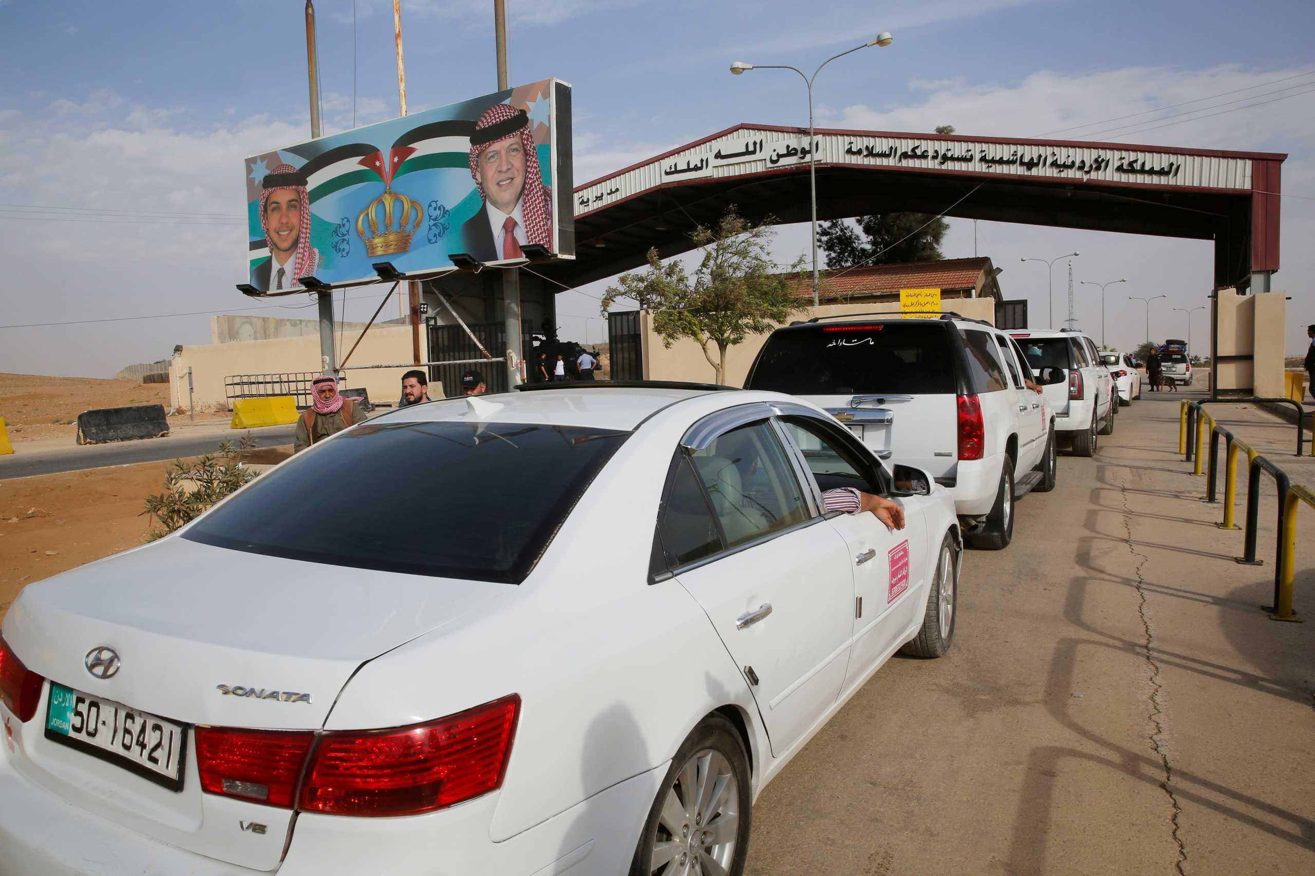 Η Ιορδανία κλείνει τα σύνορα με τη Συρία