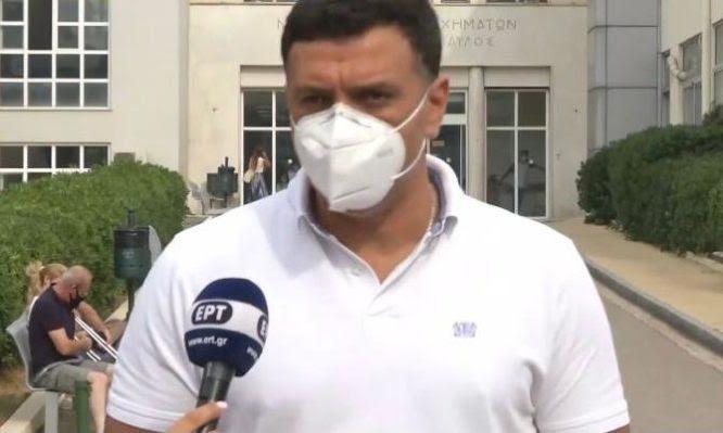 Κικίλιας στο ΚΑΤ: Επισκέφθηκε τους εγκαυματίες πυροσβέστες – Εκκενώνεται γηροκομείο στον Άγιο Στέφανο