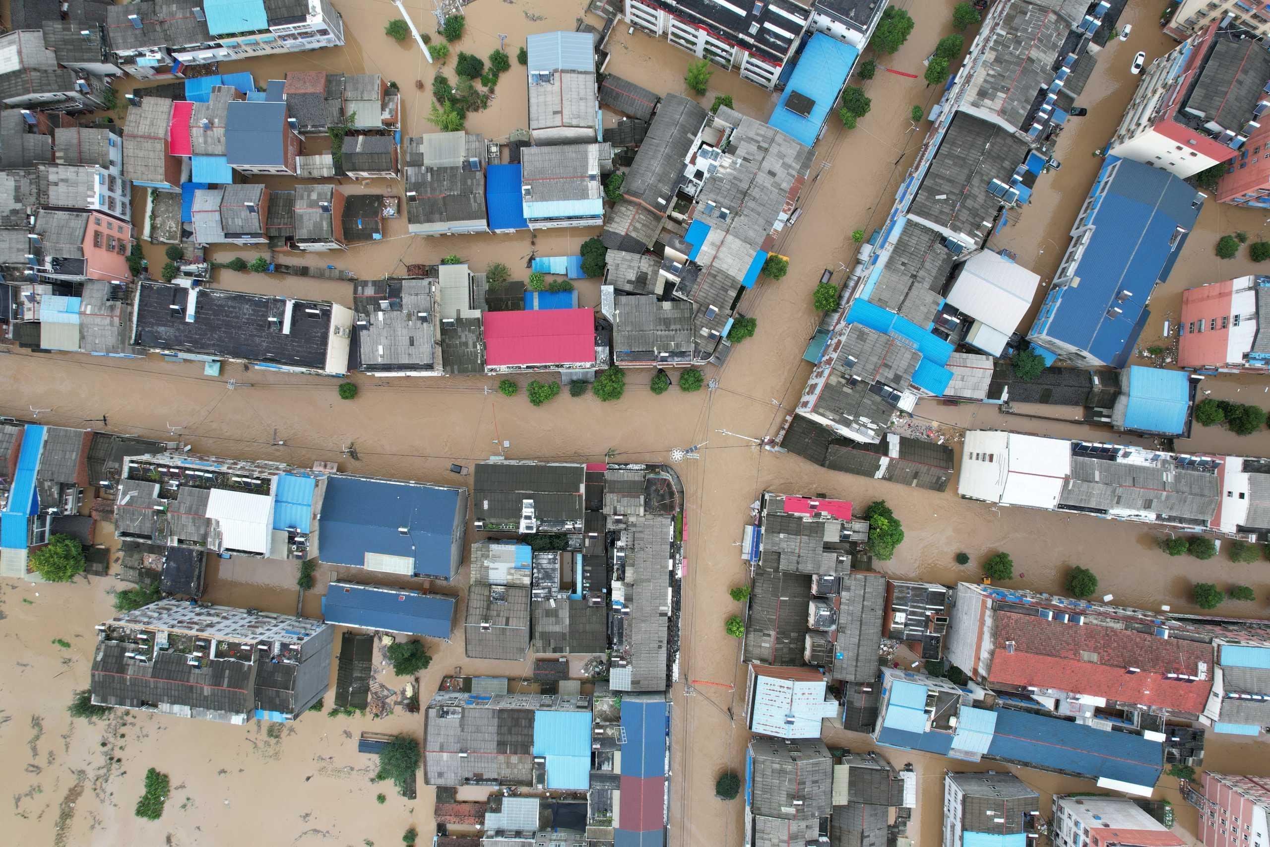 Κίνα: 21 οι νεκροί από τις νέες φονικές πλημμύρες