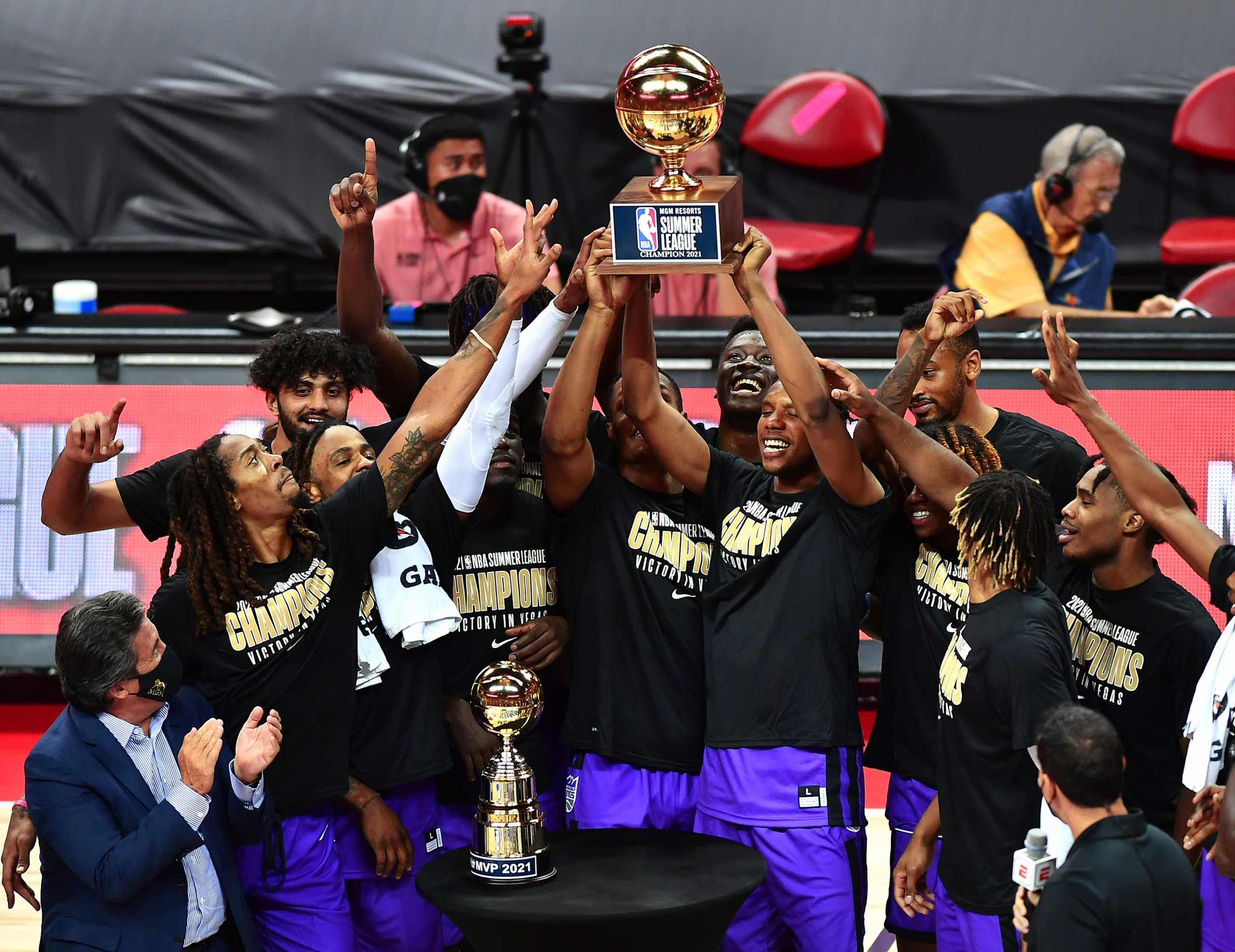 Οι Σακραμέντο Κινγκς του Άλεξ Αντετοκούνμπο κατέκτησαν το NBA Summer League