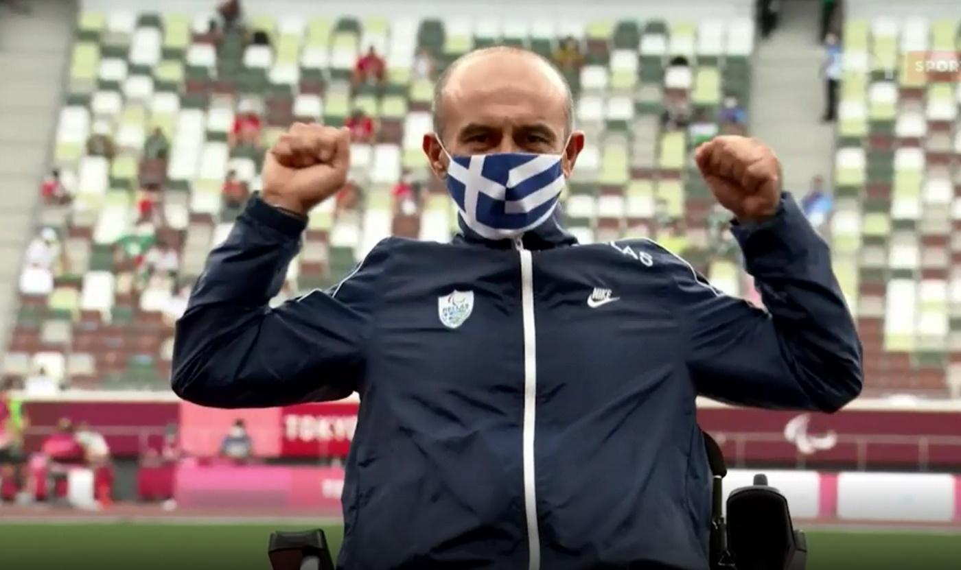 Παραολυμπιακοί Αγώνες: Συγκίνηση για τον Θανάση Κωνσταντινίδη, η απονομή του ασημένιου μεταλλίου