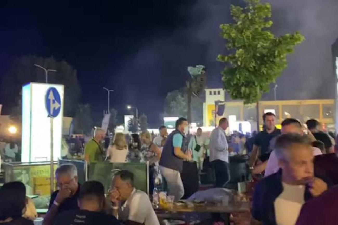 Χαμός σε συναυλία του Γκόραν Μπρέγκοβιτς στην Κορυτσά: Έπεσαν και δακρυγόνα
