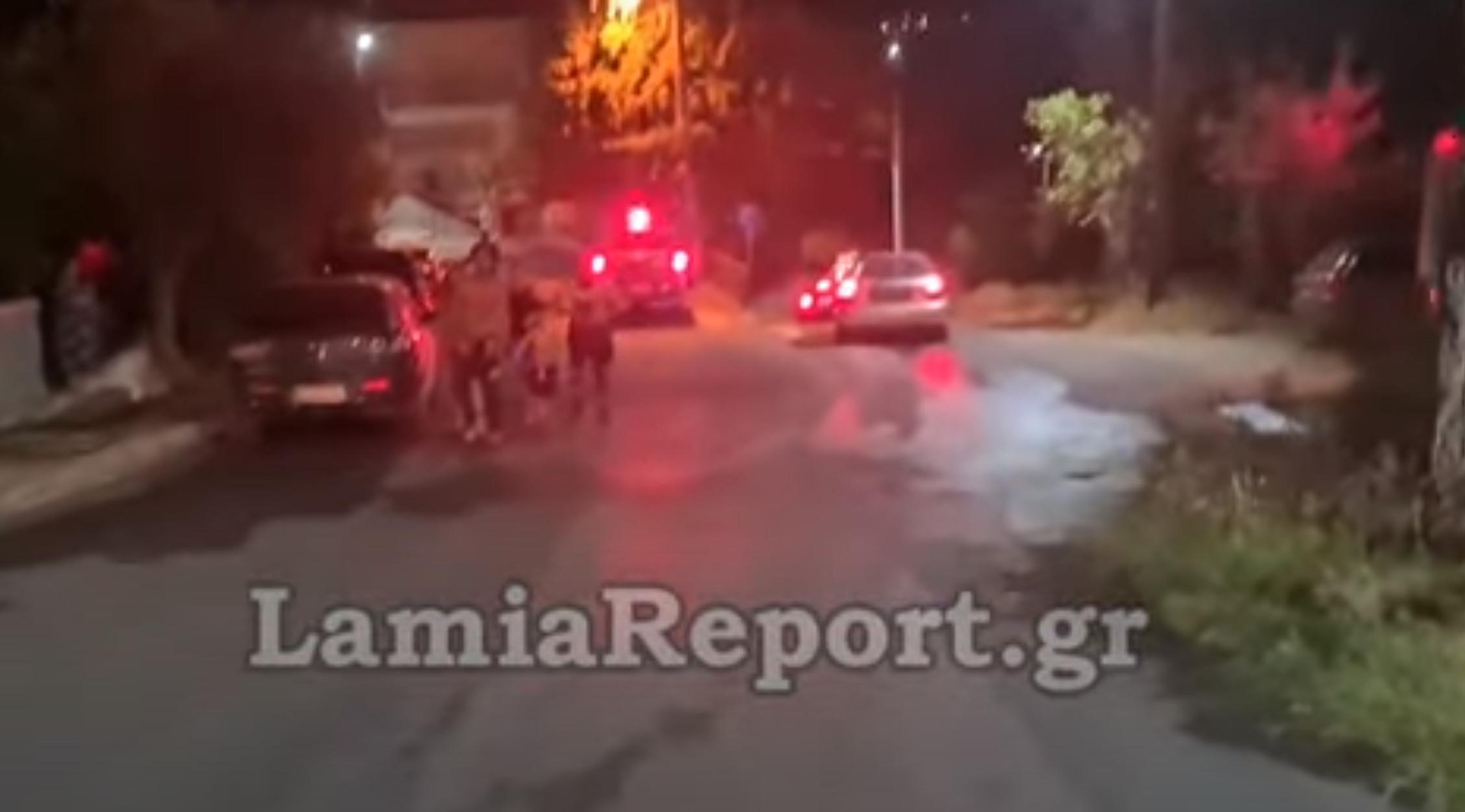 Λαμία: Εμπρηστές έβαλαν φωτιά στην πόλη