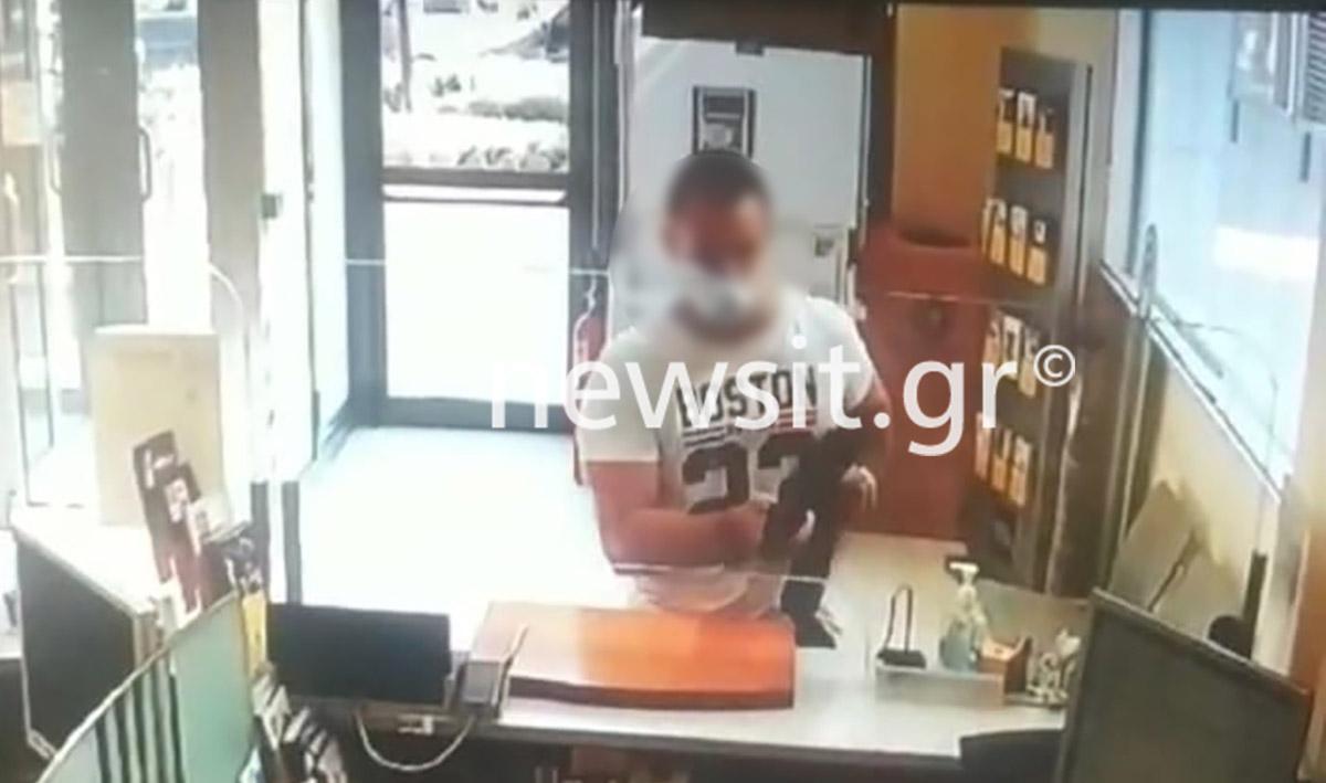Ανθρωποκυνηγητό για την σύλληψη επικίνδυνου ληστή τράπεζας στην Μεταμόρφωση