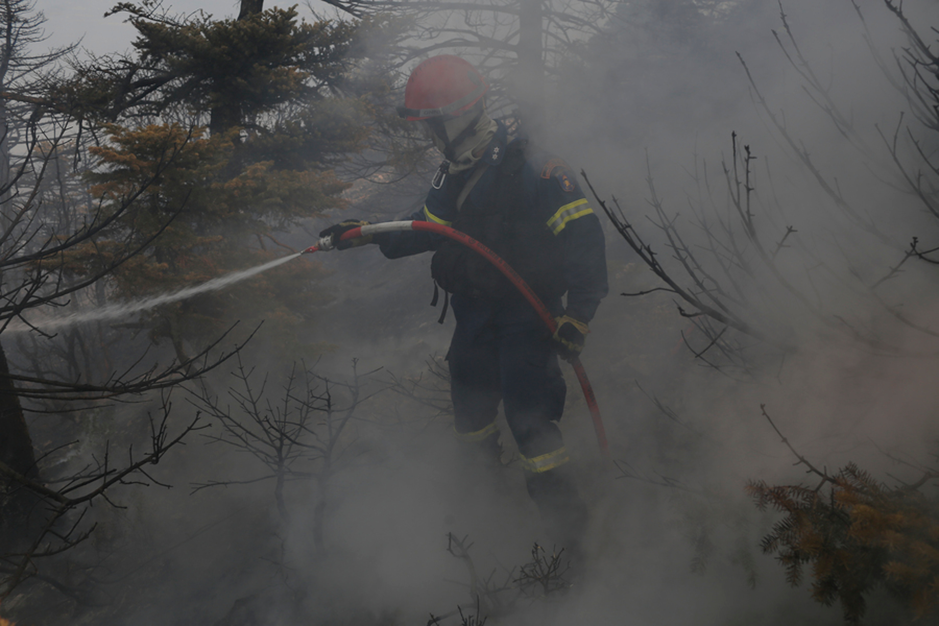 Φωτιές στην Αττική: Μάχη με τις αναζωπυρώσεις – Σε ύφεση το πύρινο μέτωπο