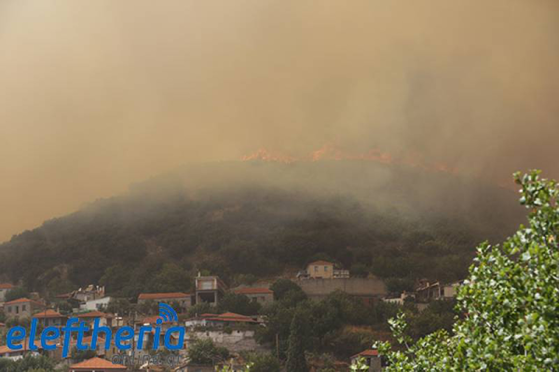 Φωτιά στην Μεσσηνία: Άλλες δύο εστίες πυρκαγιάς