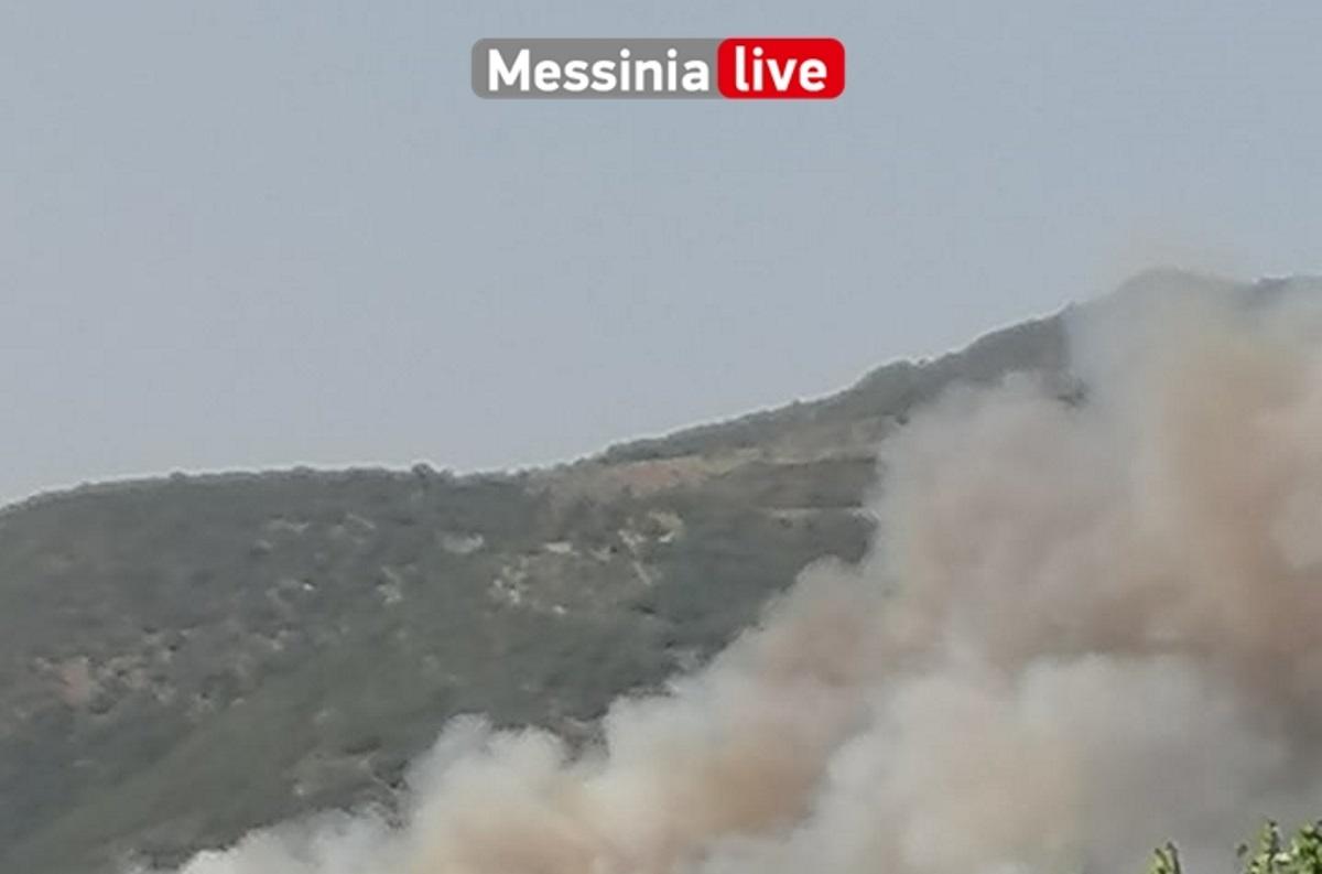 Φωτιά στη Μεσσηνία: Μπήκαν στο χωριό Καρνάσι οι φλόγες