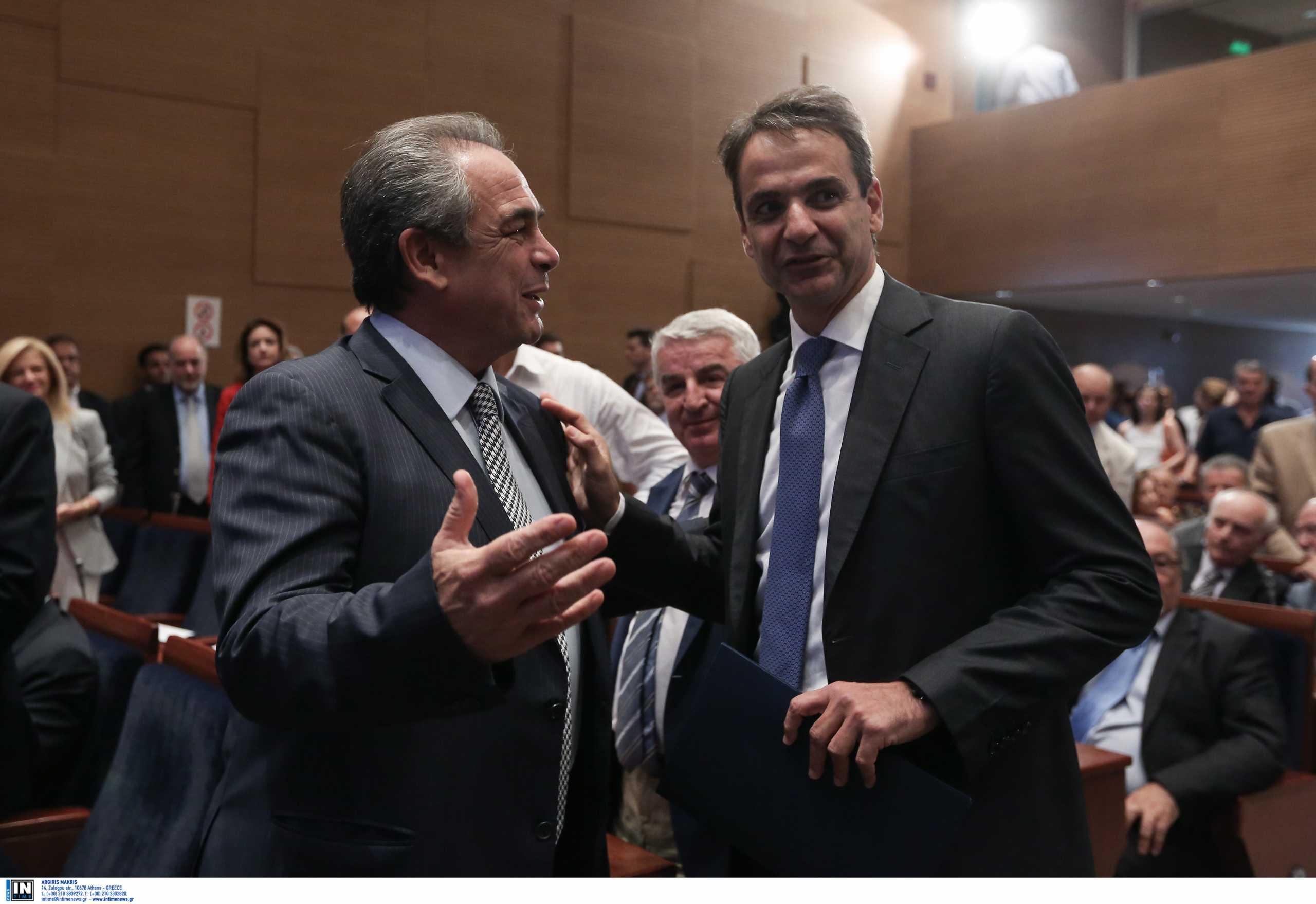 Κωνσταντίνος Μίχαλος: Ο πολιτικός κόσμος αποχαιρετά τον πρόεδρο του ΕΒΕΑ