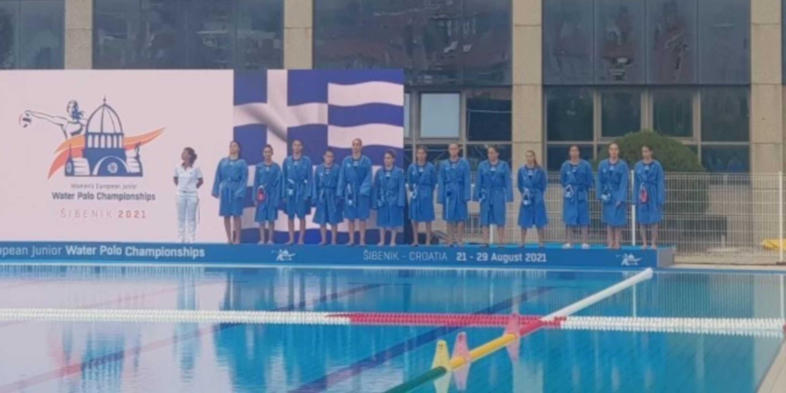 Ρωσία – Ελλάδα 12-8: Ήττα και ασημένιο μετάλλιο για το Πόλο Νεανίδων