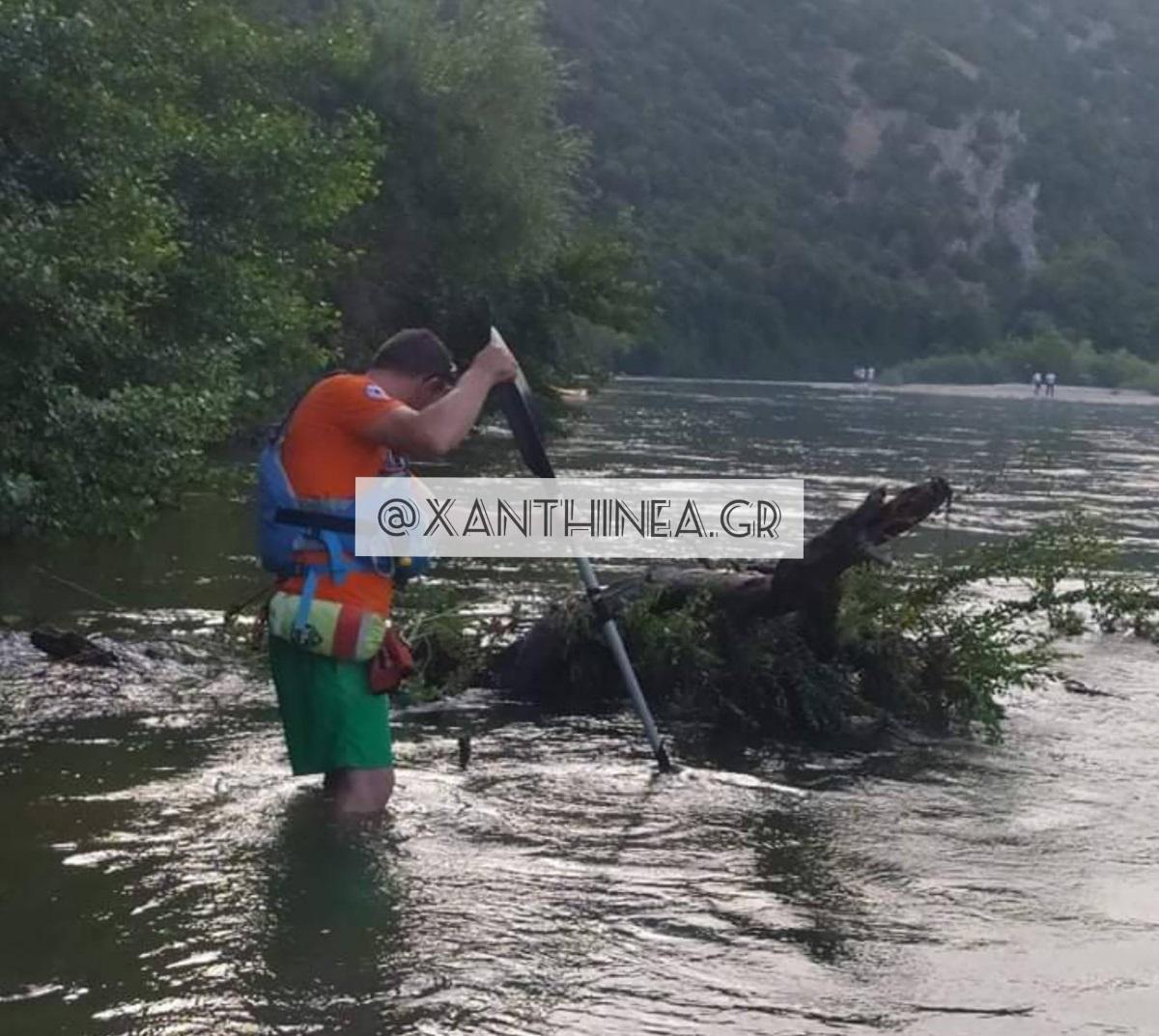 Νεκρός βρέθηκε ο 21χρονος που είχε εξαφανιστεί στον Νέστο – Είχε κάνει βουτιά στο ποτάμι