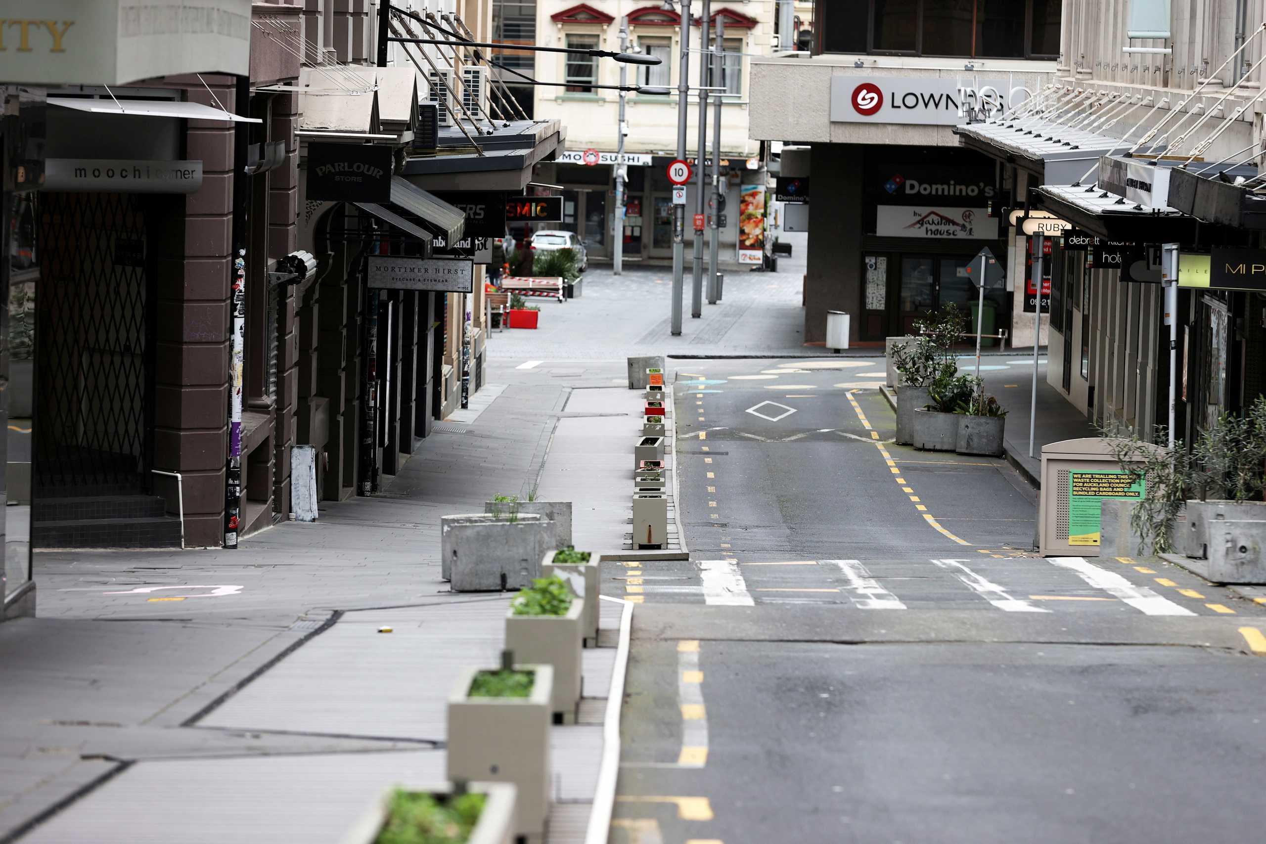 Νέα Ζηλανδία: Το σκληρό lockdown «ρίχνει» τα κρούσματα κορονοϊού για 2η μέρα