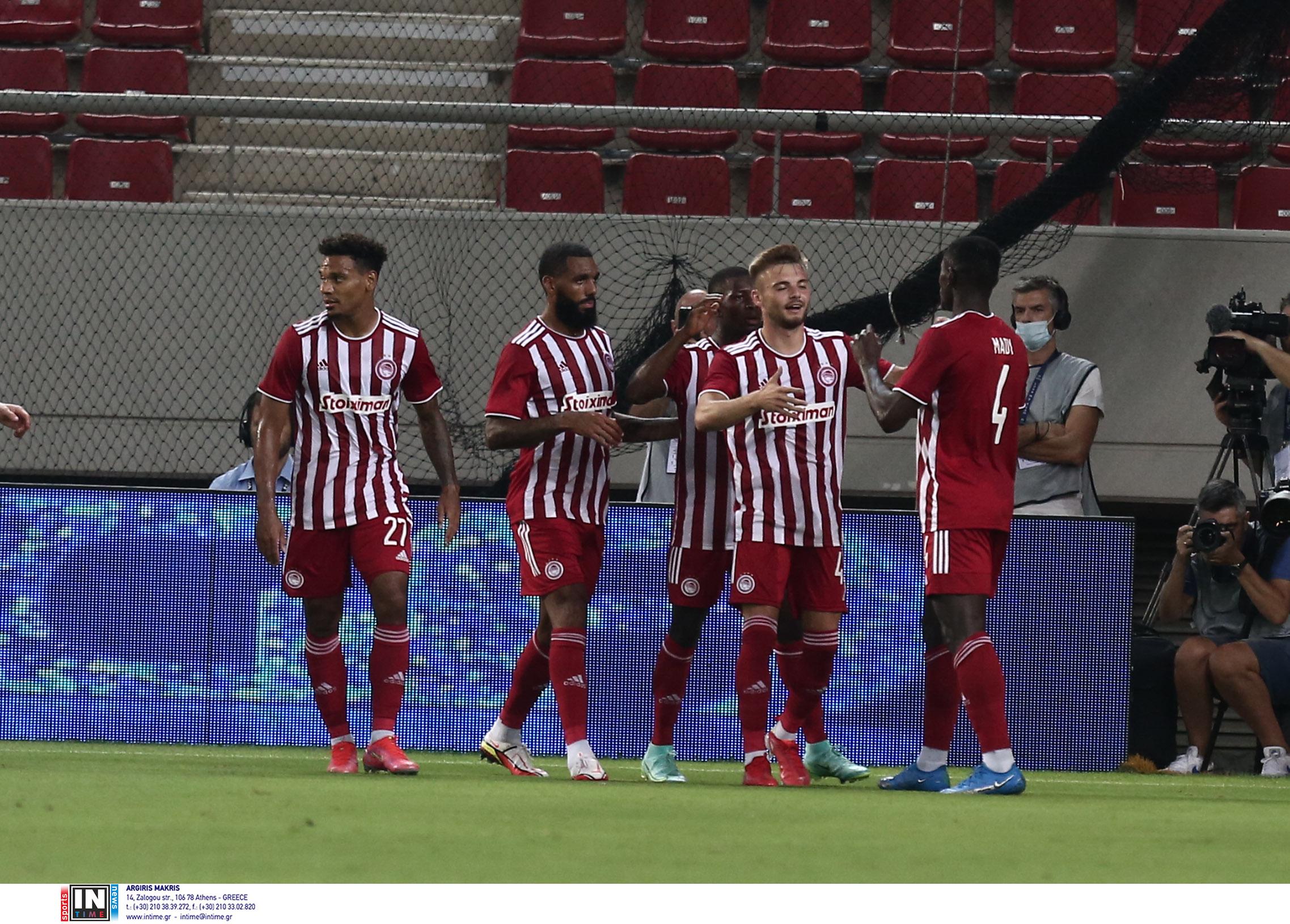 Ολυμπιακός – Σλόβαν Μπρατισλάβας LIVE για τα πλέι οφ του Europa League