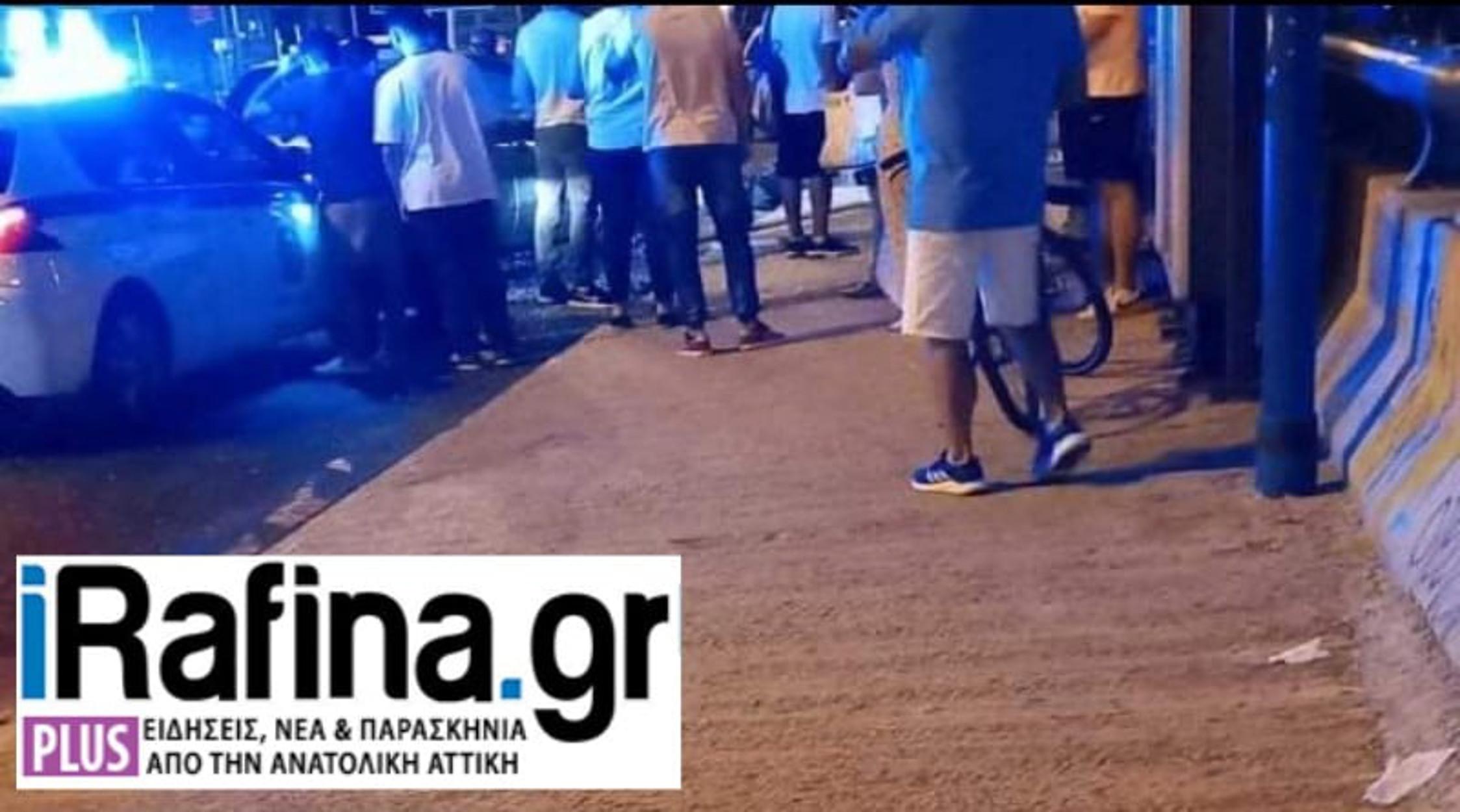 Παλλήνη: Αυτοκίνητο έπεσε πάνω σε στάση – 1 νεκρός και 5 τραυματίες