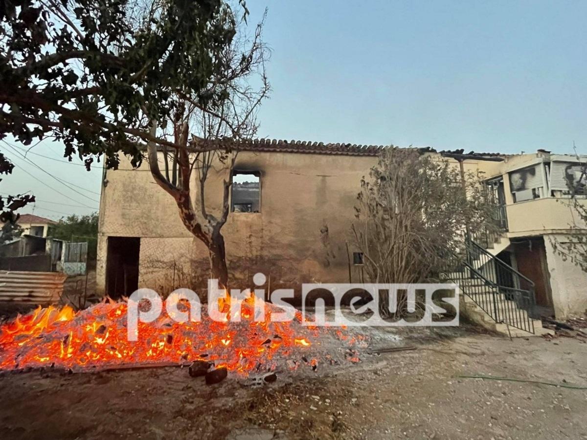 Φωτιά σε Ηλεία, Γορτυνία, Μάνη: Σε ετοιμότητα ισχυρές πυροσβεστικές δυνάμεις