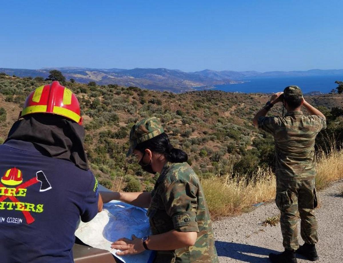 Περιπολίες Στρατού και Αστυνομίας σε δάση και επίφοβες περιοχές για πρόληψη πυρκαγιών – Συλλήψεις για εμπρησμούς