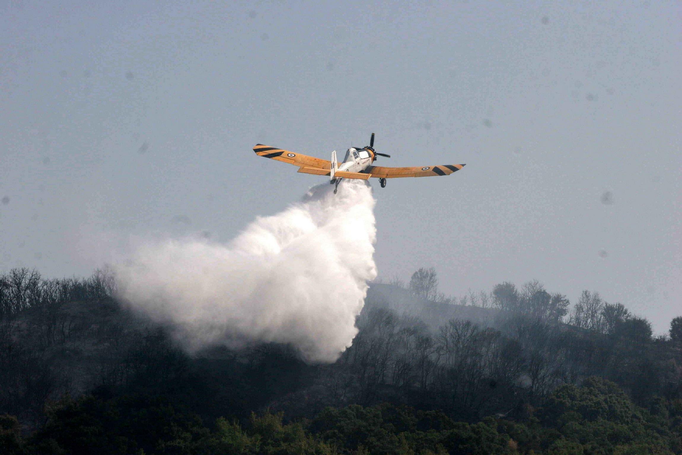 Κατέπεσε πυροσβεστικό αεροπλάνο στην Ζάκυνθο