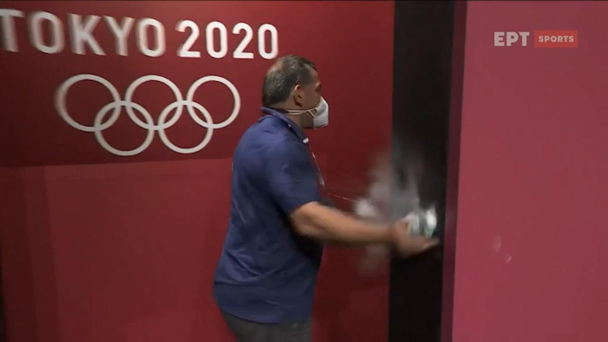 Ολυμπιακοί Αγώνες: Η έκρηξη του Πύρρου Δήμα, κοπάνησε τον τοίχο