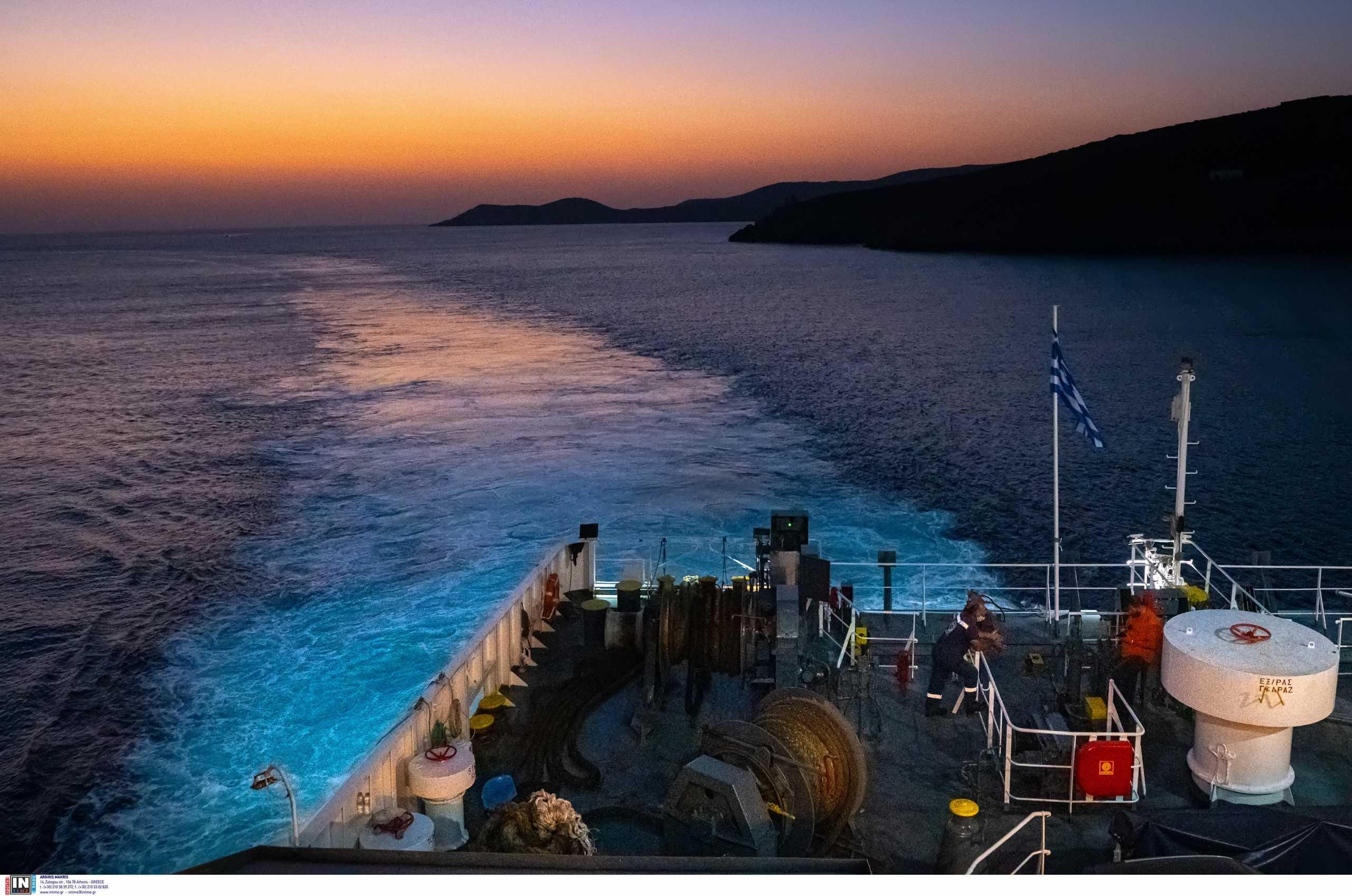 Κύθνος: Ακυβέρνητο πλοίο λόγω μηχανικής βλάβης
