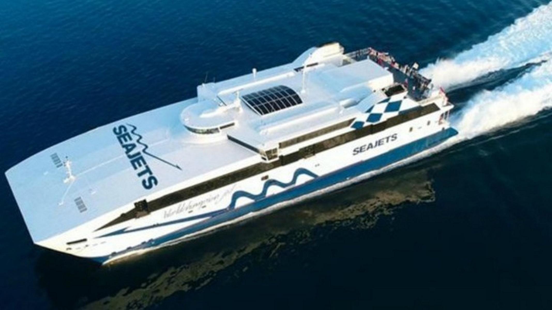 Καταμαράν Power Jet: Εισροή υδάτων με 333 επιβάτες – Γύρισε στη Σαντορίνη