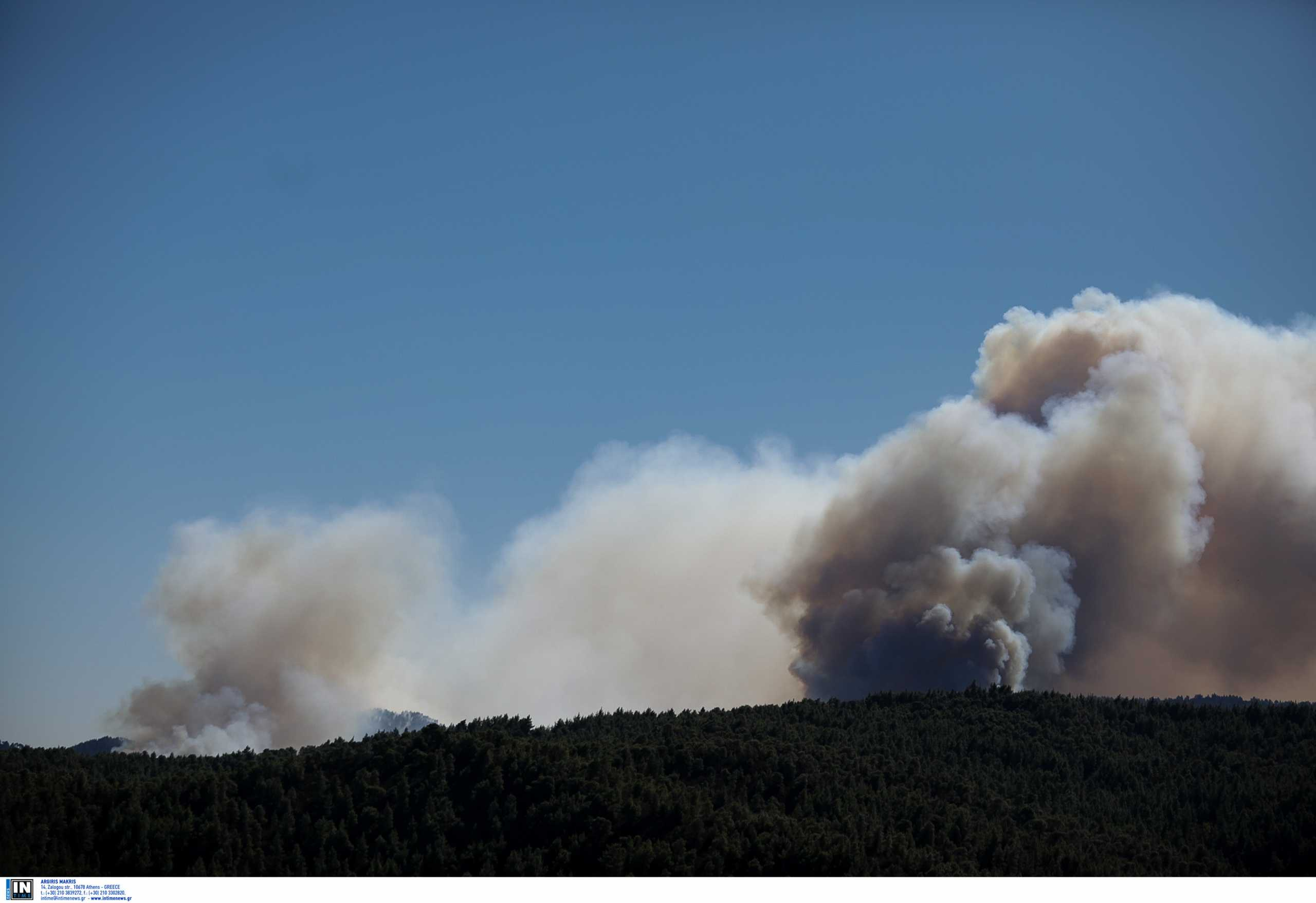 Πέντε φωτιές σε εξέλιξη στη Μακεδονία