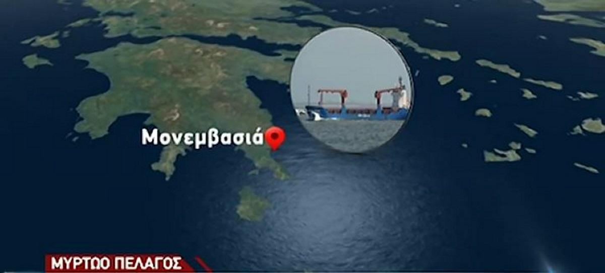 Ναυάγιο στο Μυρτώο Πέλαγος: Αγώνας δρόμου γιατην πρόληψη θαλάσσιας ρύπανσης