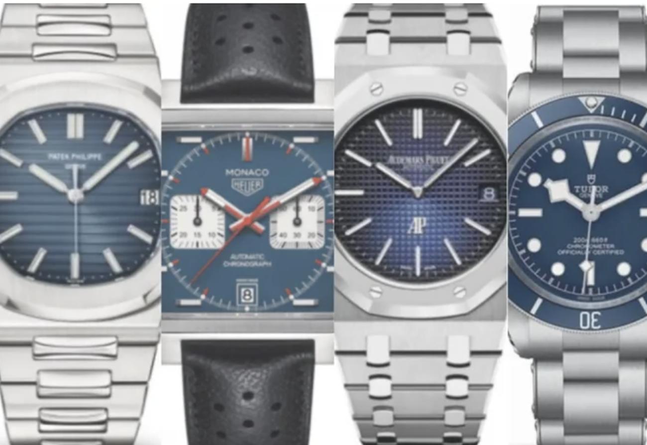 Αυτά είναι τα 7 καλύτερα ρολόγια με μπλε καντράν