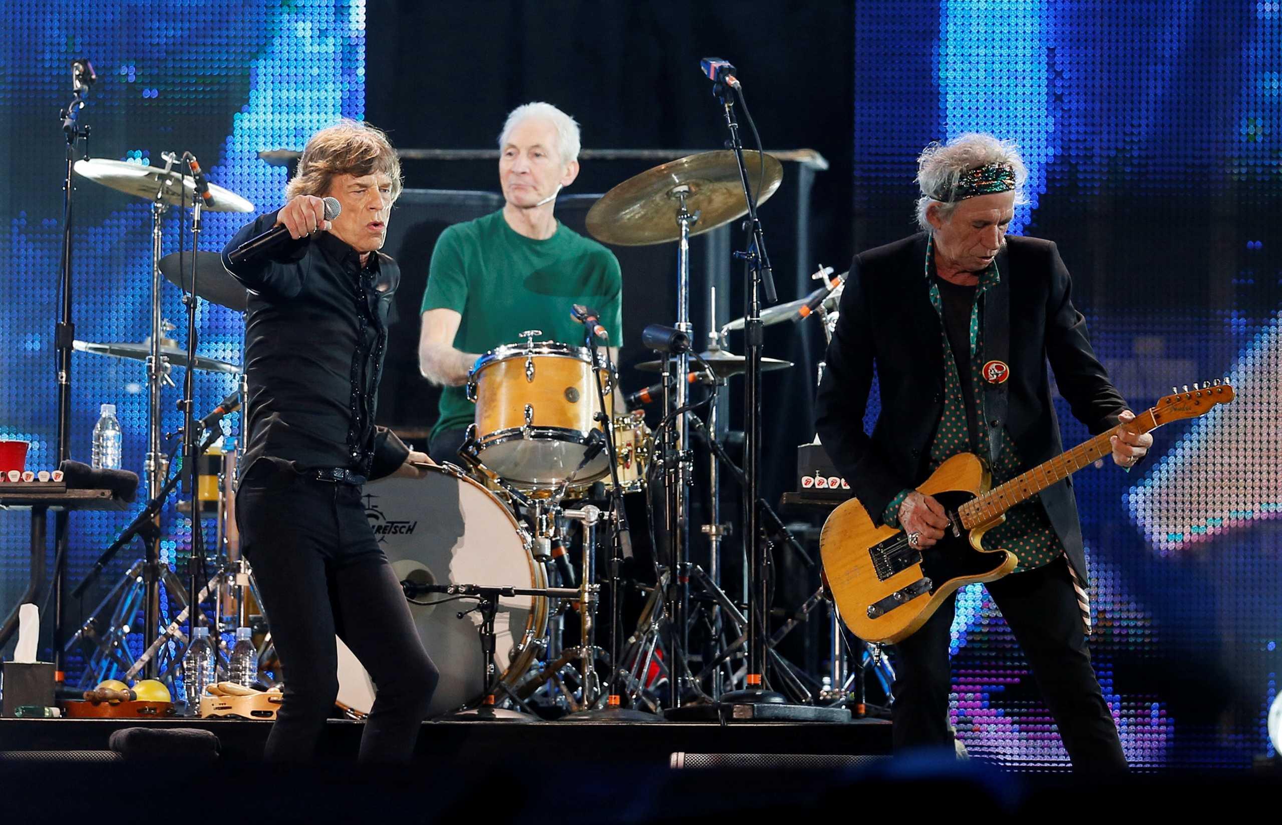 Πέθανε ο θρυλικός ντράμερ των Rolling Stones Τσάρλι Γουότς