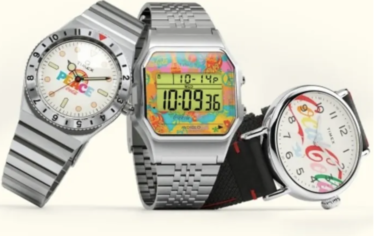 3 απίστευτα ρολόγια από την συνεργασία της Timex με την Coca-Cola