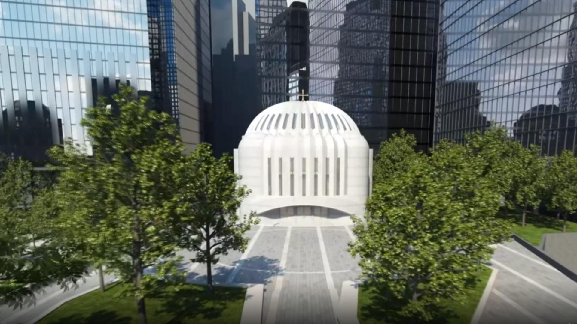Νέα Υόρκη: Πρώτη λειτουργία στον Άγιο Νικόλαο – Είχε καταστραφεί την 11η Σεπτεμβρίου