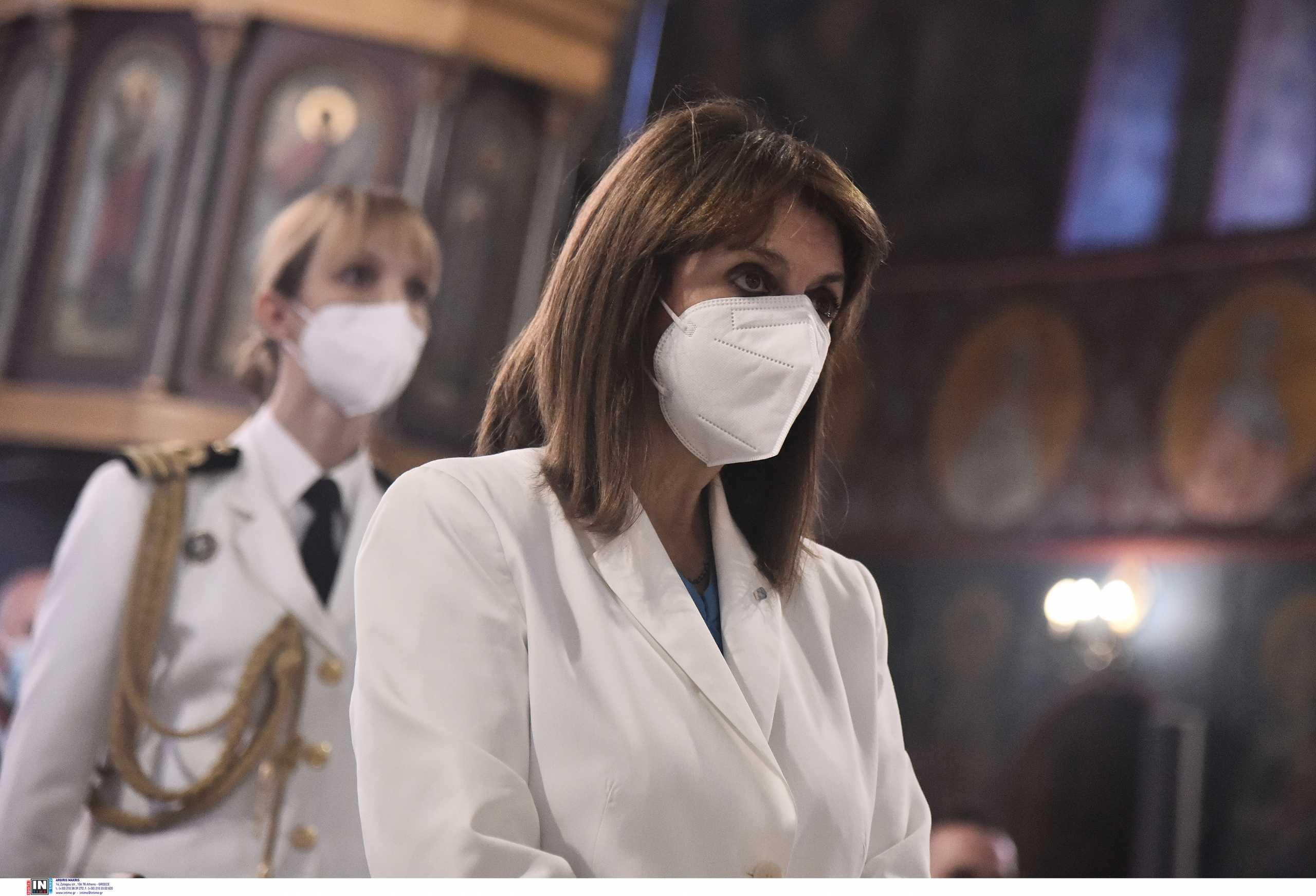 Το «ευχαριστώ» της Κατερίνας Σακελλαροπούλου στις χώρες που έστειλαν βοήθεια στην Ελλάδα για τις φωτιές