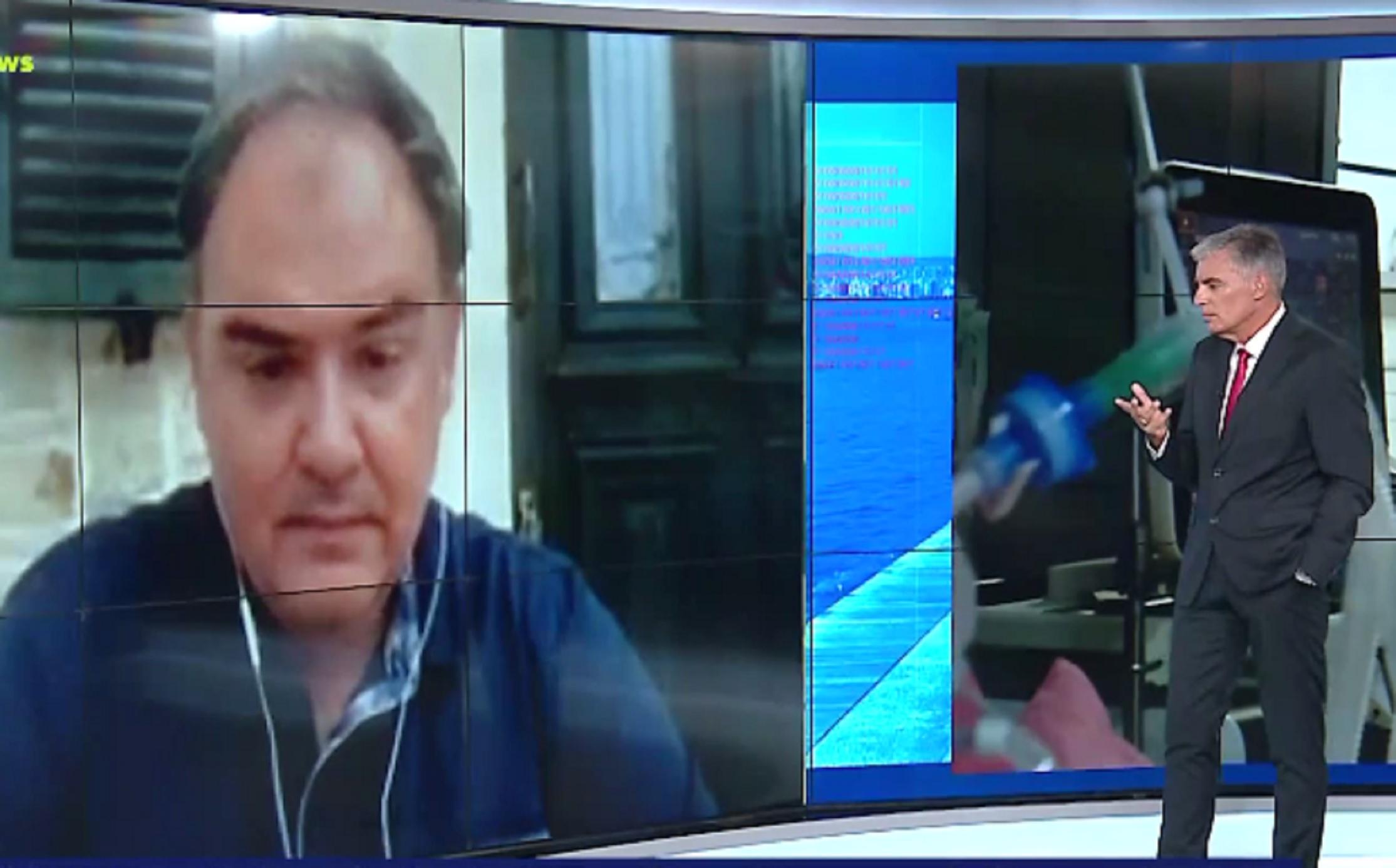 Σαρηγιάννης σε Live News: 10.000 κρούσματα τον Οκτώβριο